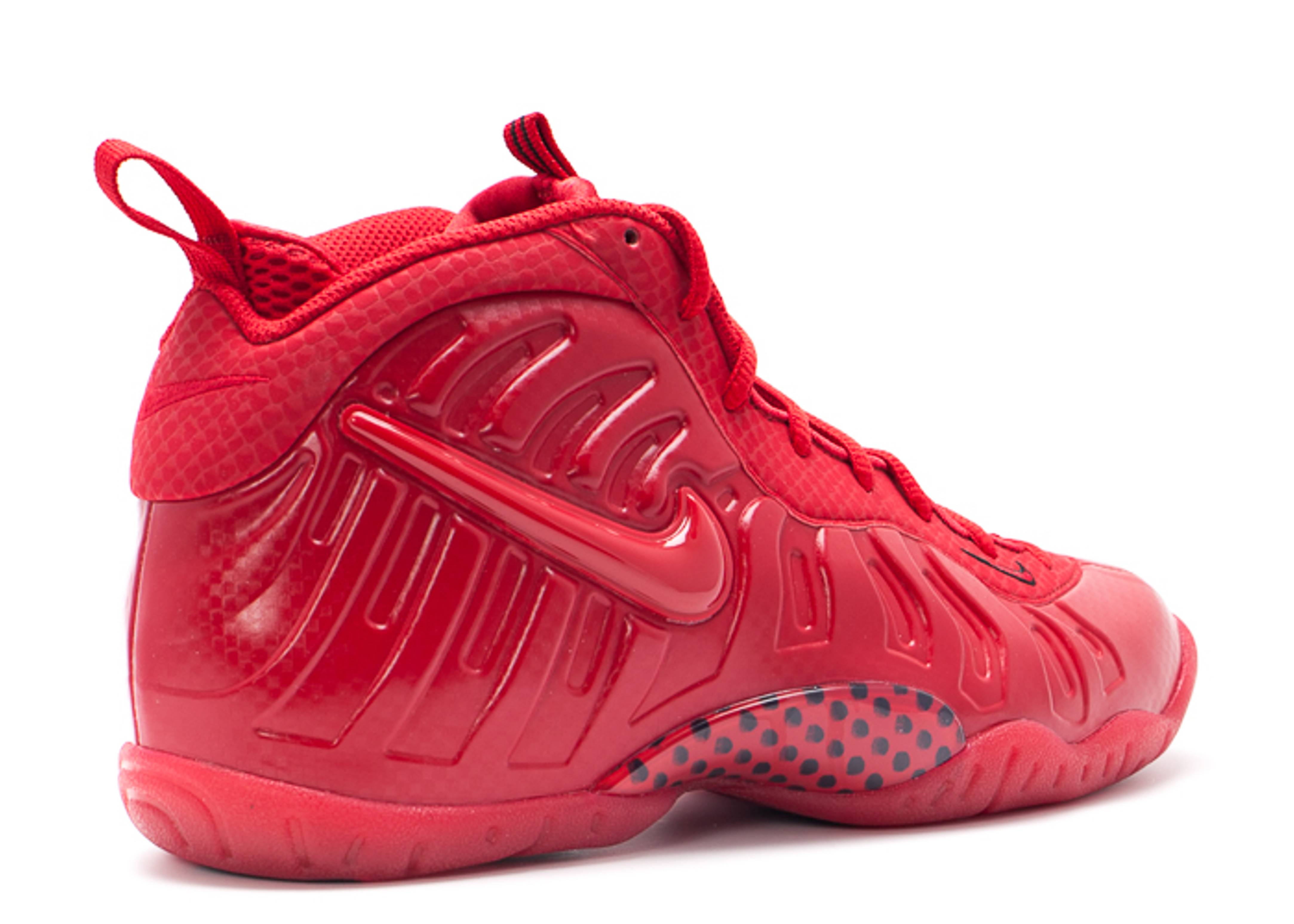 Nike Foamposite Gym Red Grade School