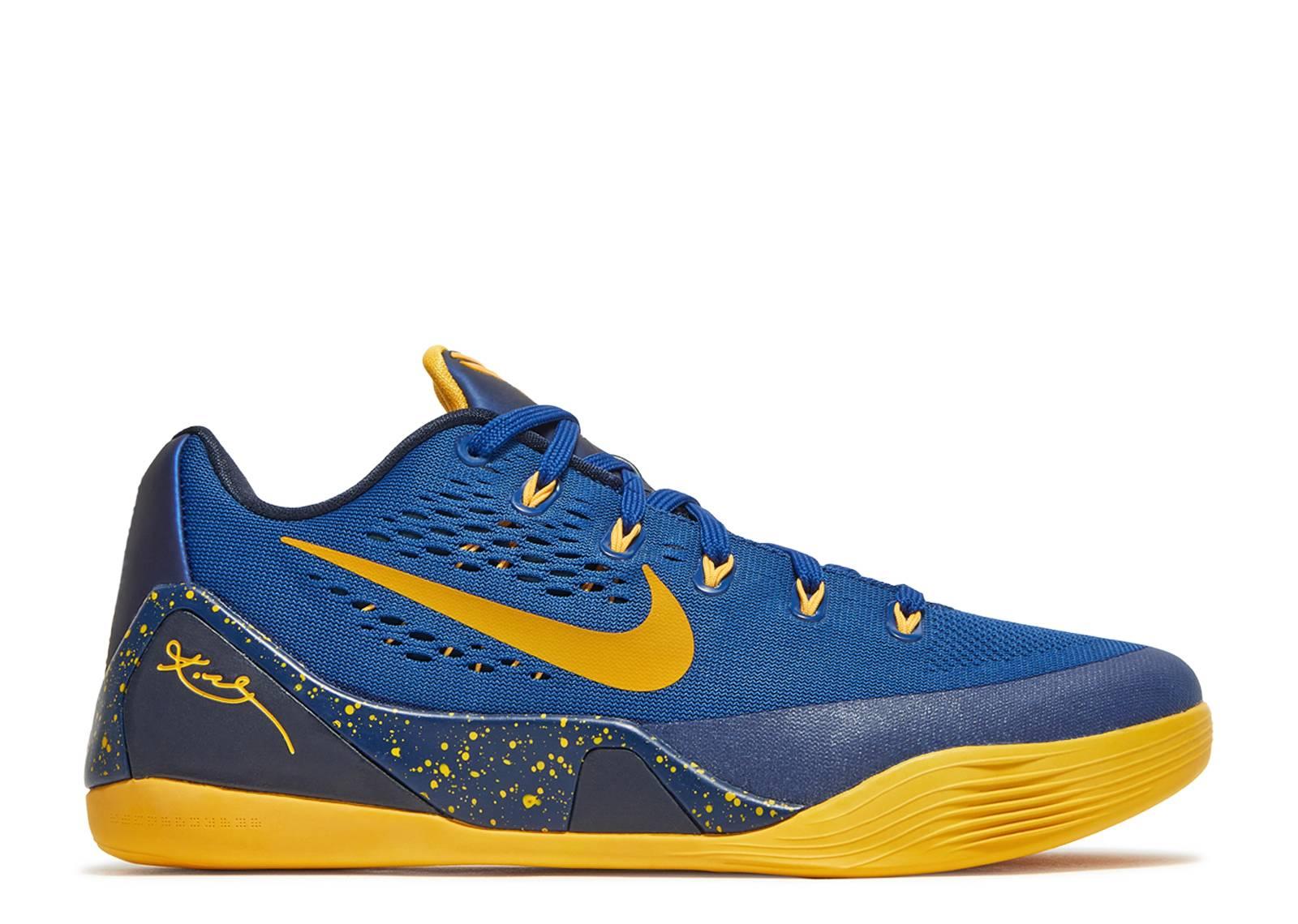best service 6658c c30e8 Kobe 9 - Nike - 646701 474 - gym blueuniversity gold-obsdn