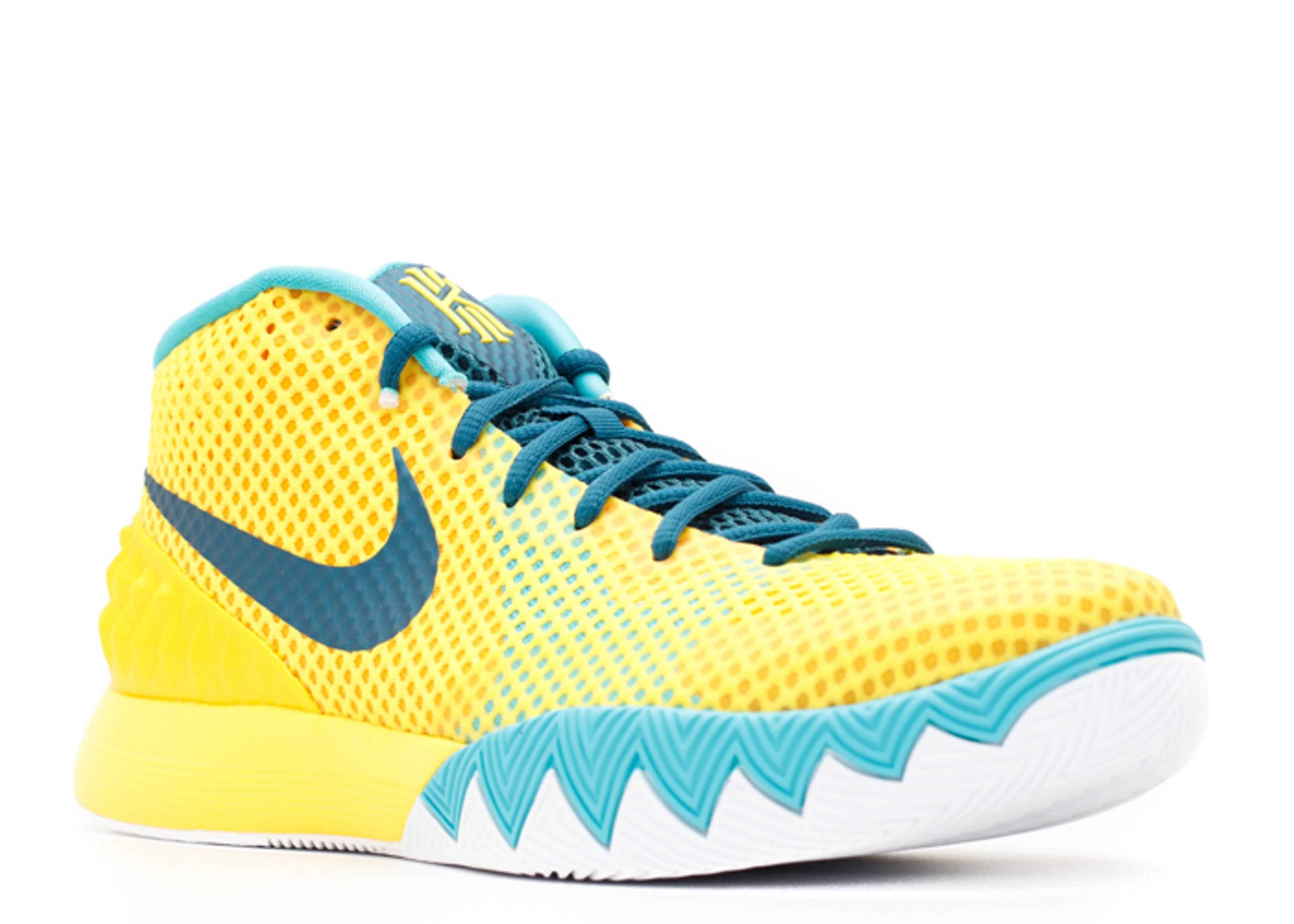 """Kyrie 1 """"letterman"""" - Nike - 705277 737 - tr yllw/tl ..."""