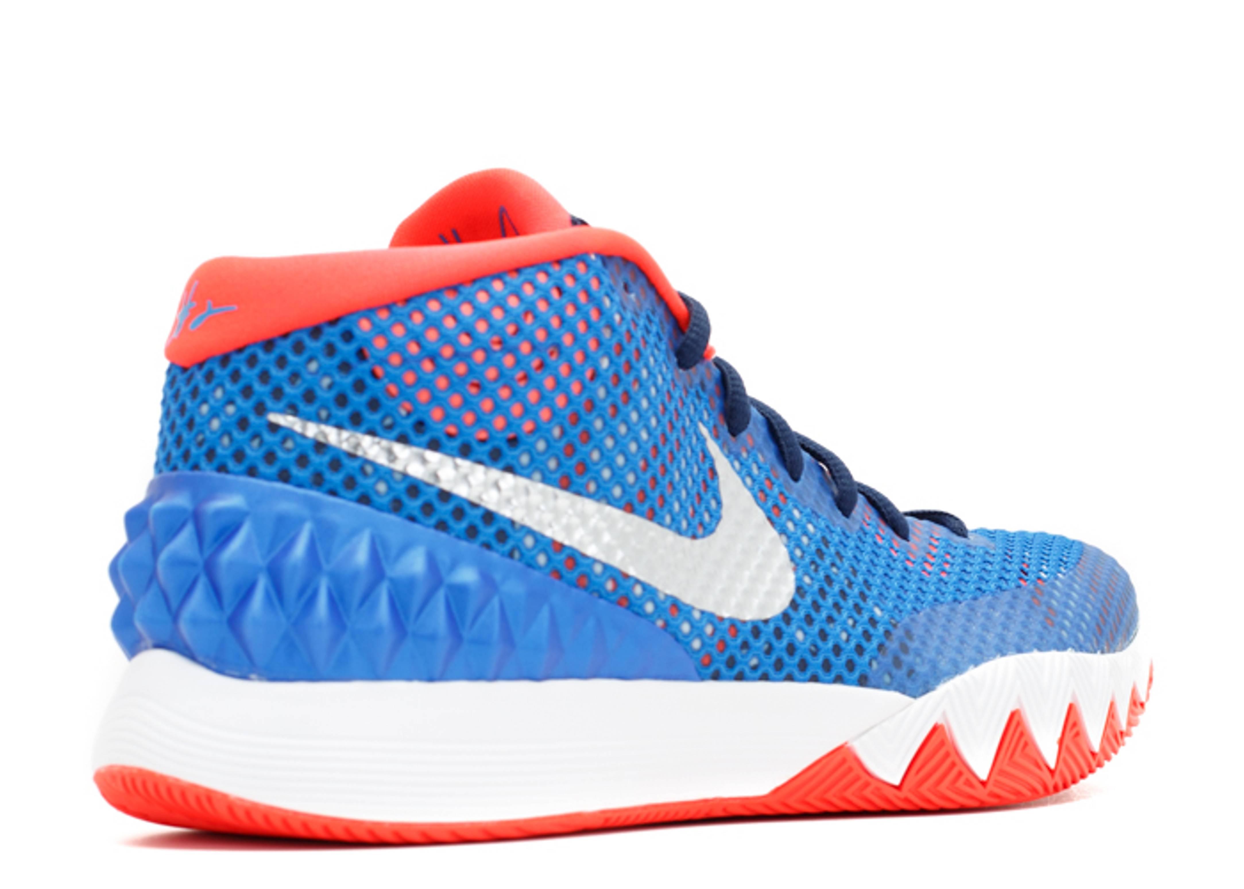 "Kyrie 1 ""usa"" - Nike - 705277 401 - sr/mttlc slvr-wht ..."