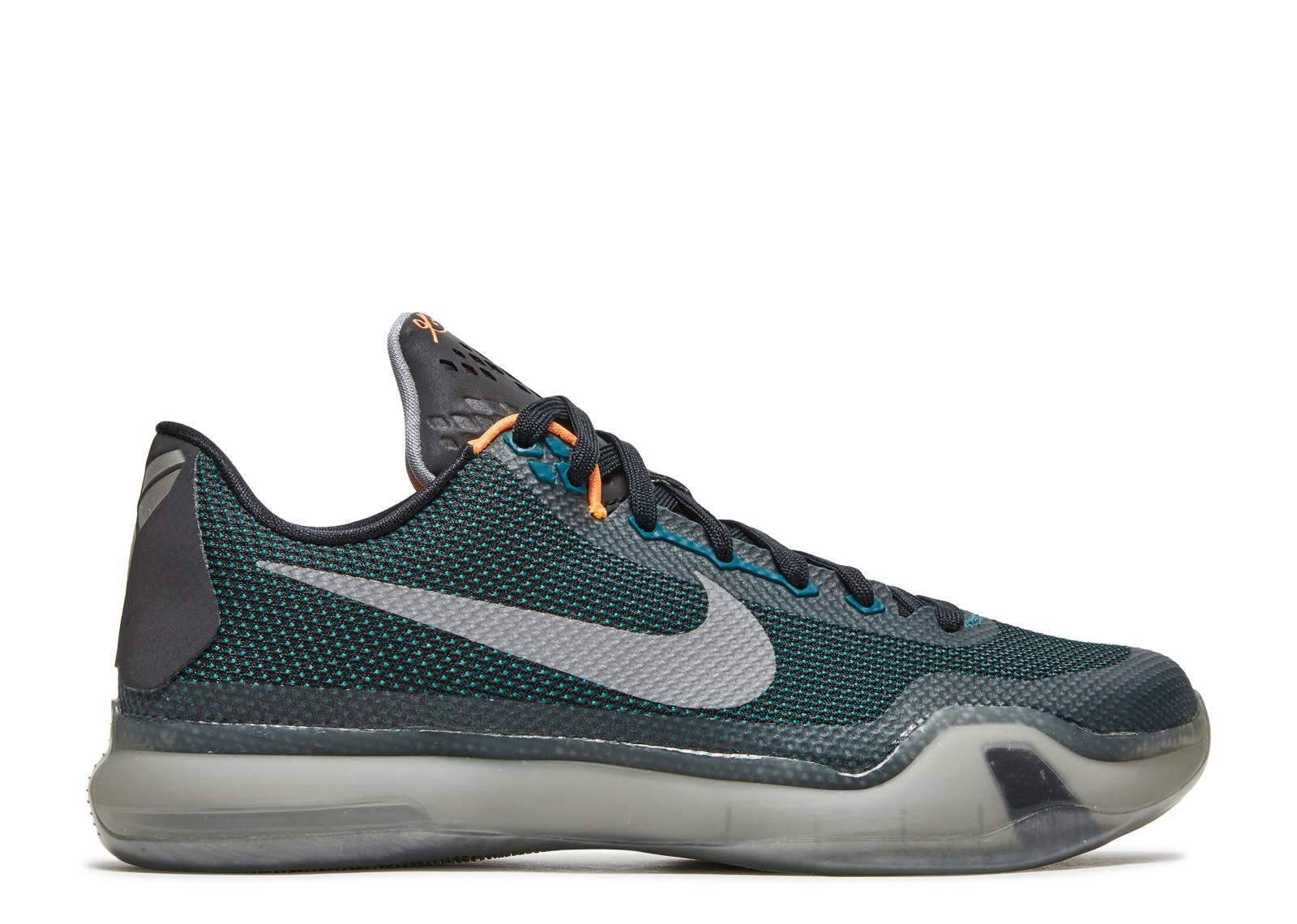 quality design 76498 4c74d Kobe 10 - Nike - 705317 308 - teal rflct silver-blck-wlf gru ...
