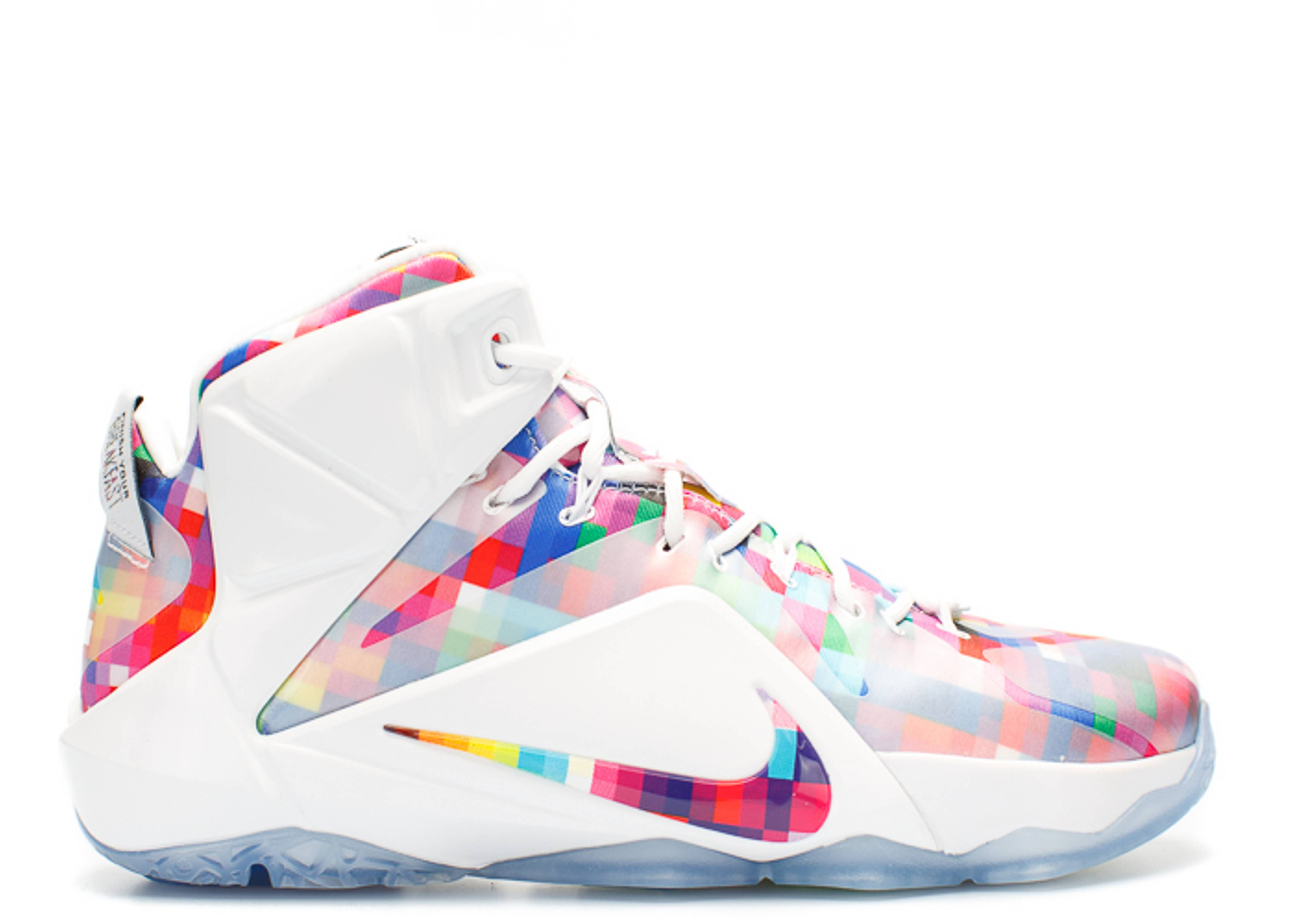 """lebron 12 ext """"finish your breakfast"""""""