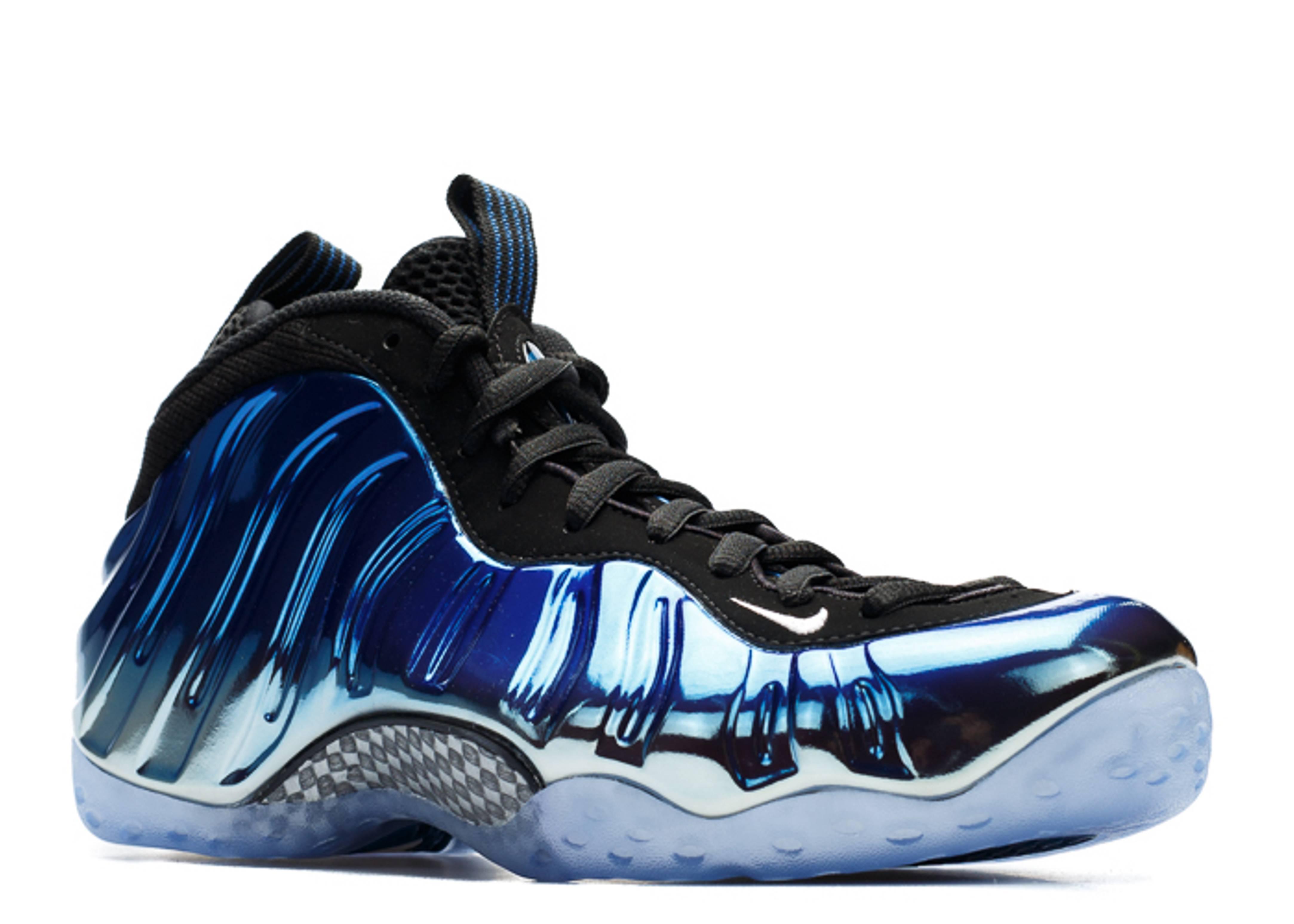 Nike Foamposite Blue Mirror