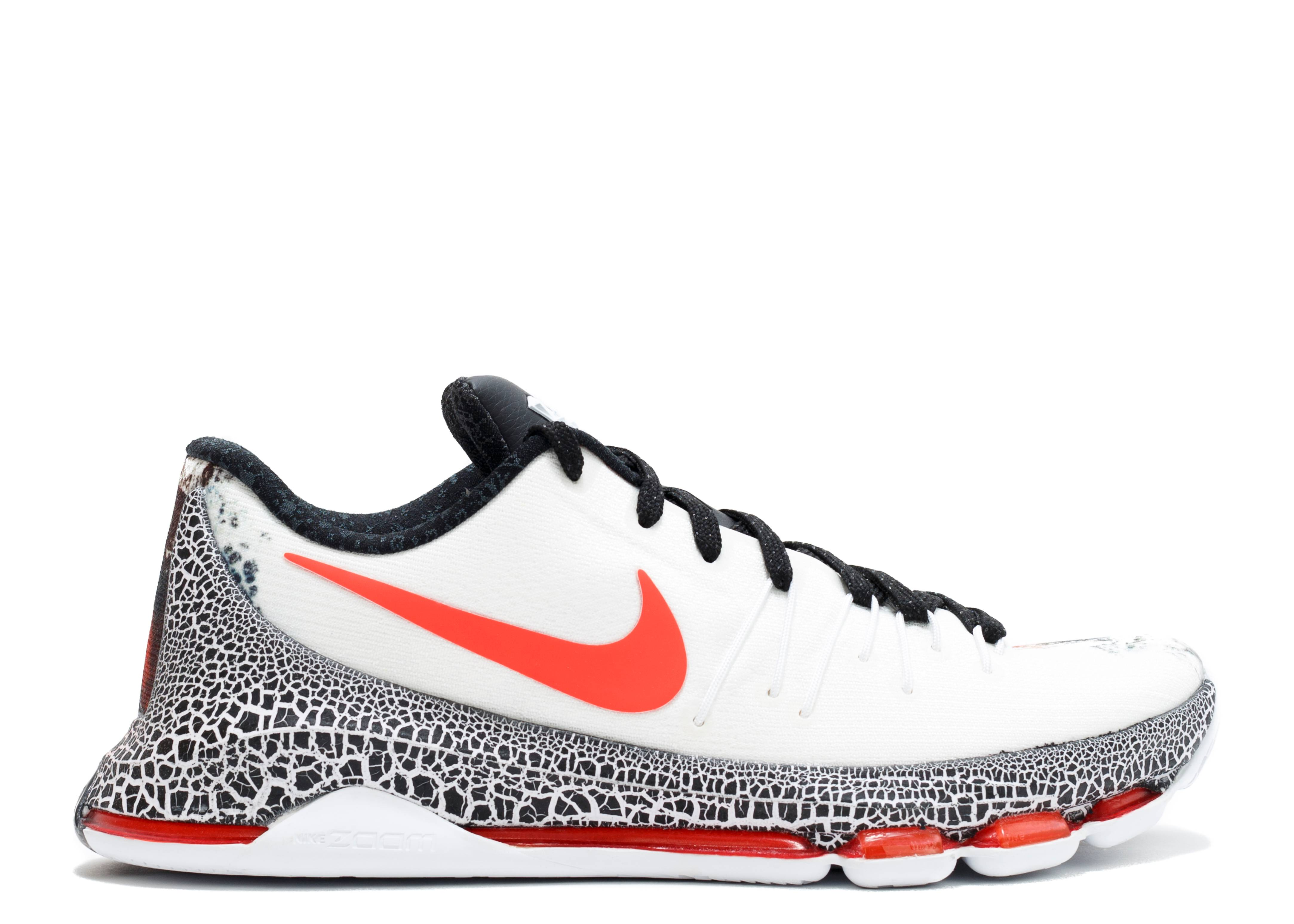 release date 47738 f6a8a Kd 8 Xmas - Nike - 822948 106 - white black-bright crimson   Flight Club
