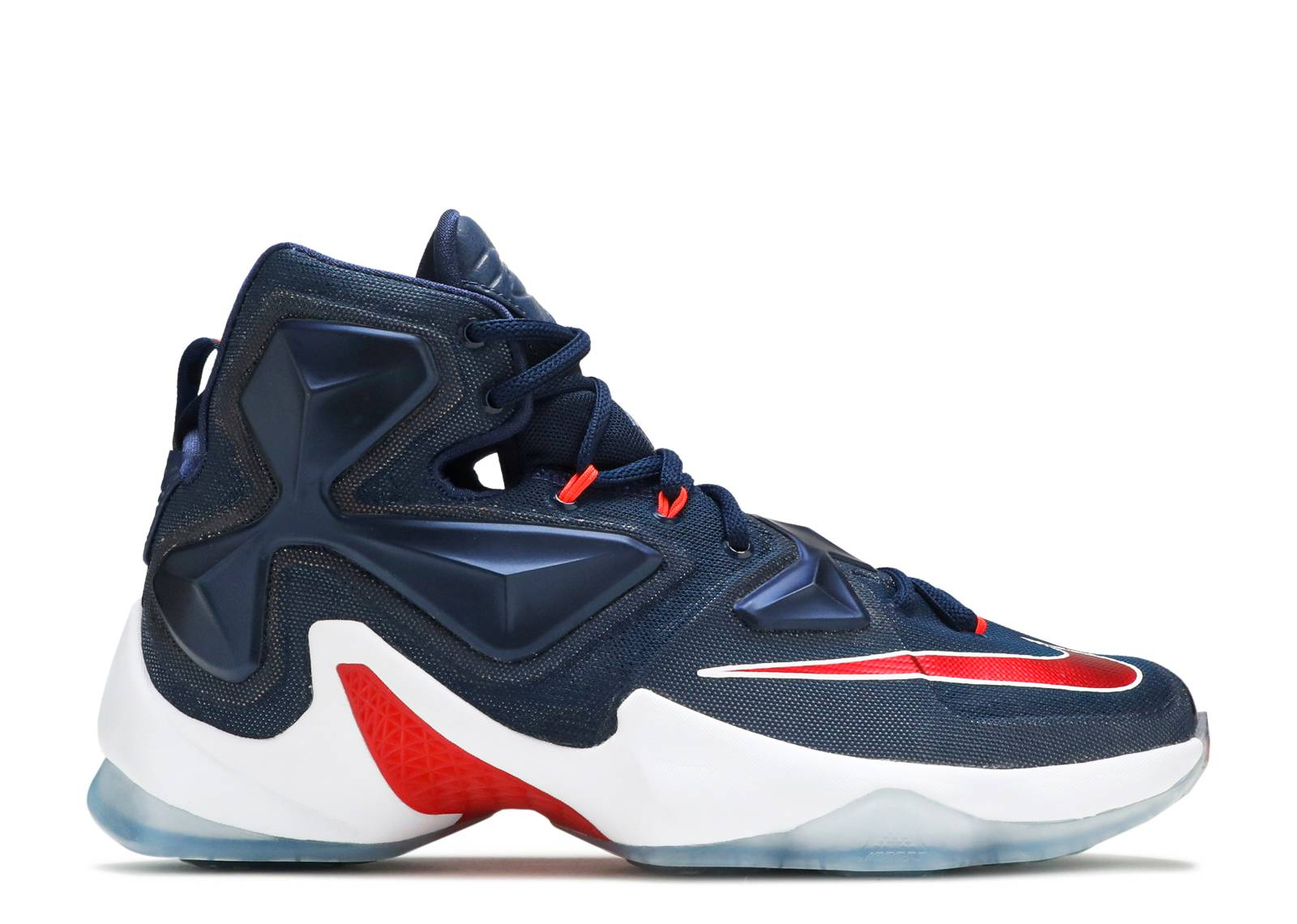 innovative design 43199 72ac6 ... sale lebron 13 usa nike 807219 461 mid nvy unvrsty rd white bright  flight club fa79f