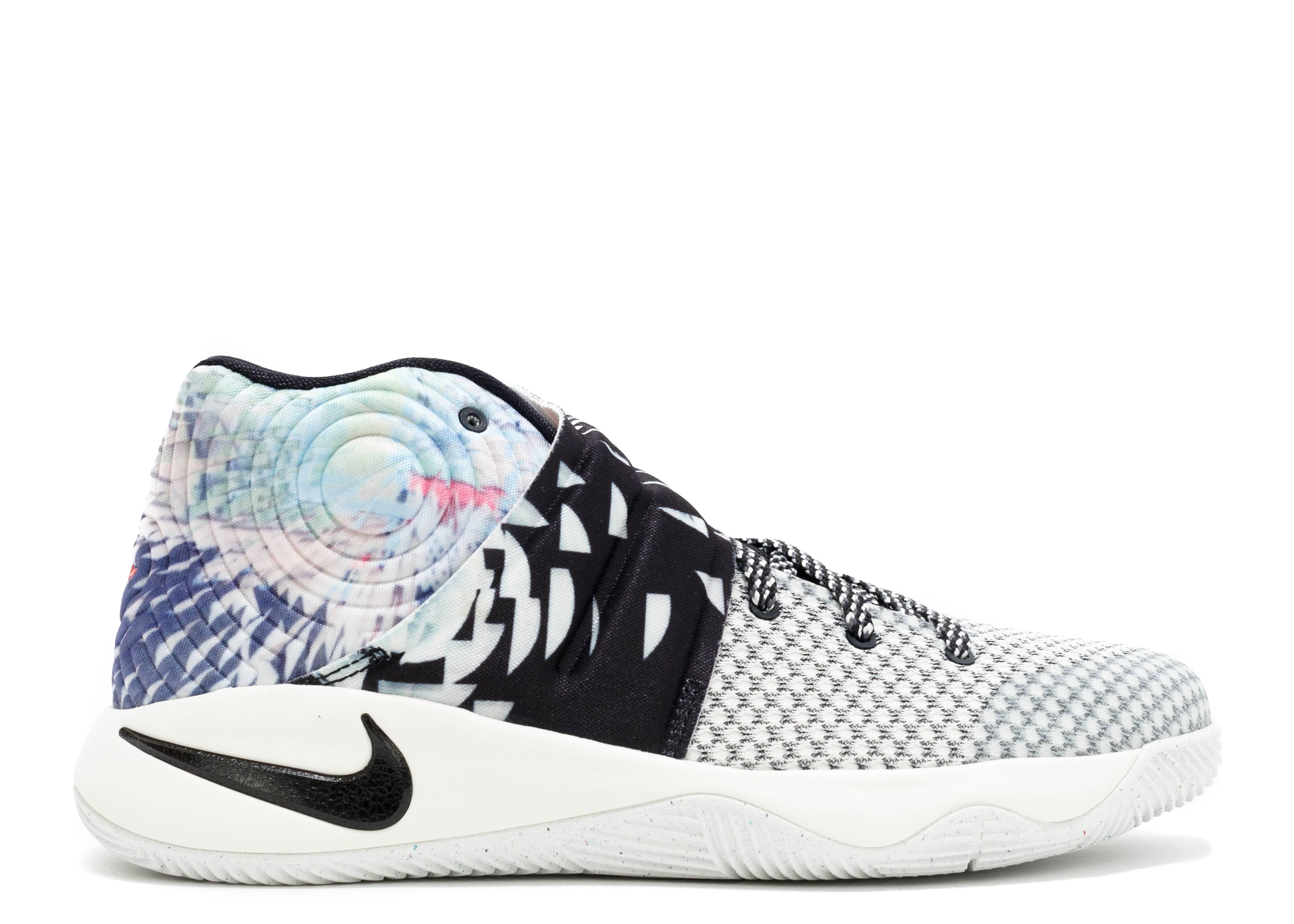 Kid's Nike Kyrie 2 II (GS) The Effect Multi Color Black Sneakers : A97y2196