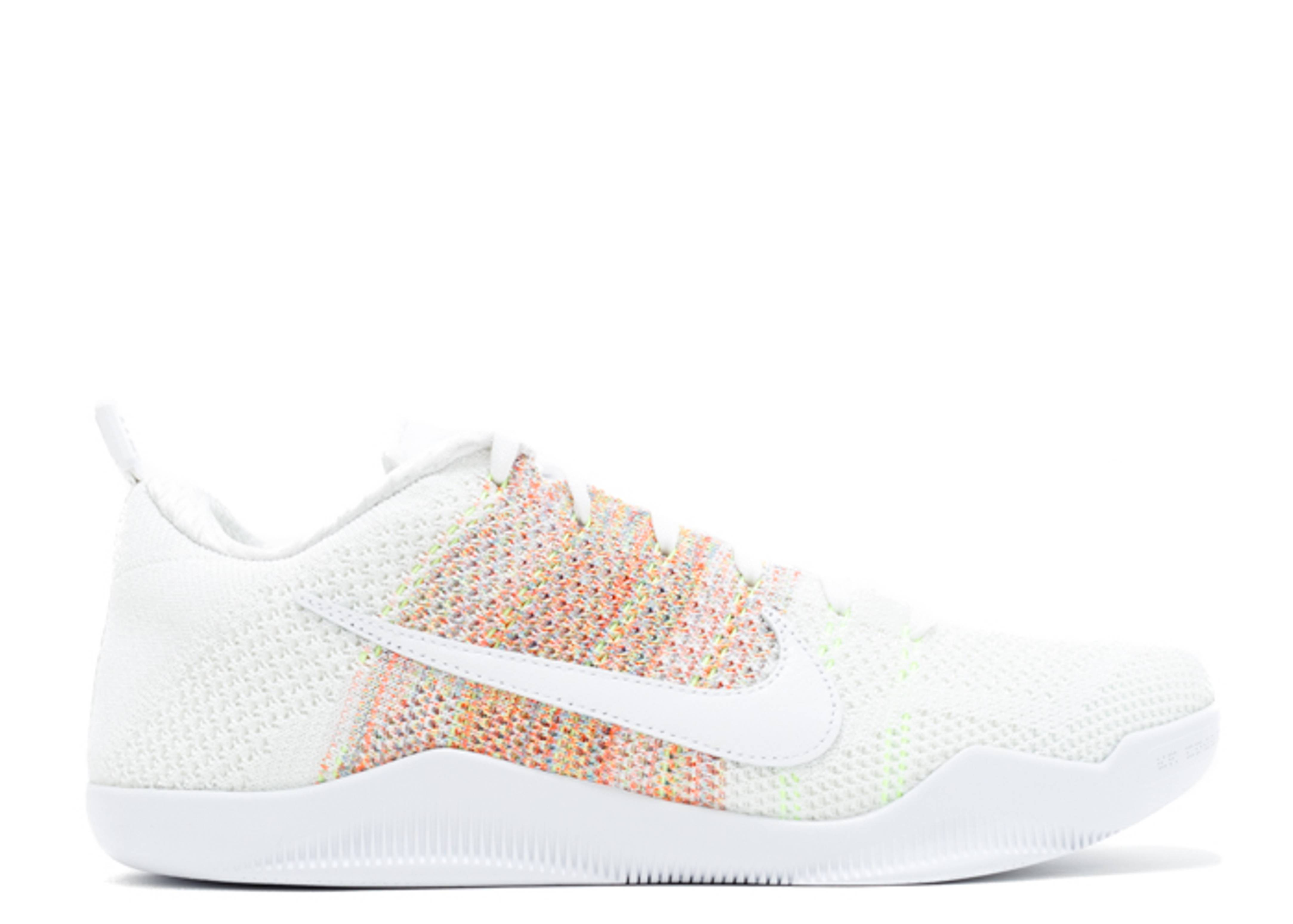 0dcc80d75c96 Kobe 11 Elite Low 4kb - Nike - 824463 199 - white multi-color-multi ...