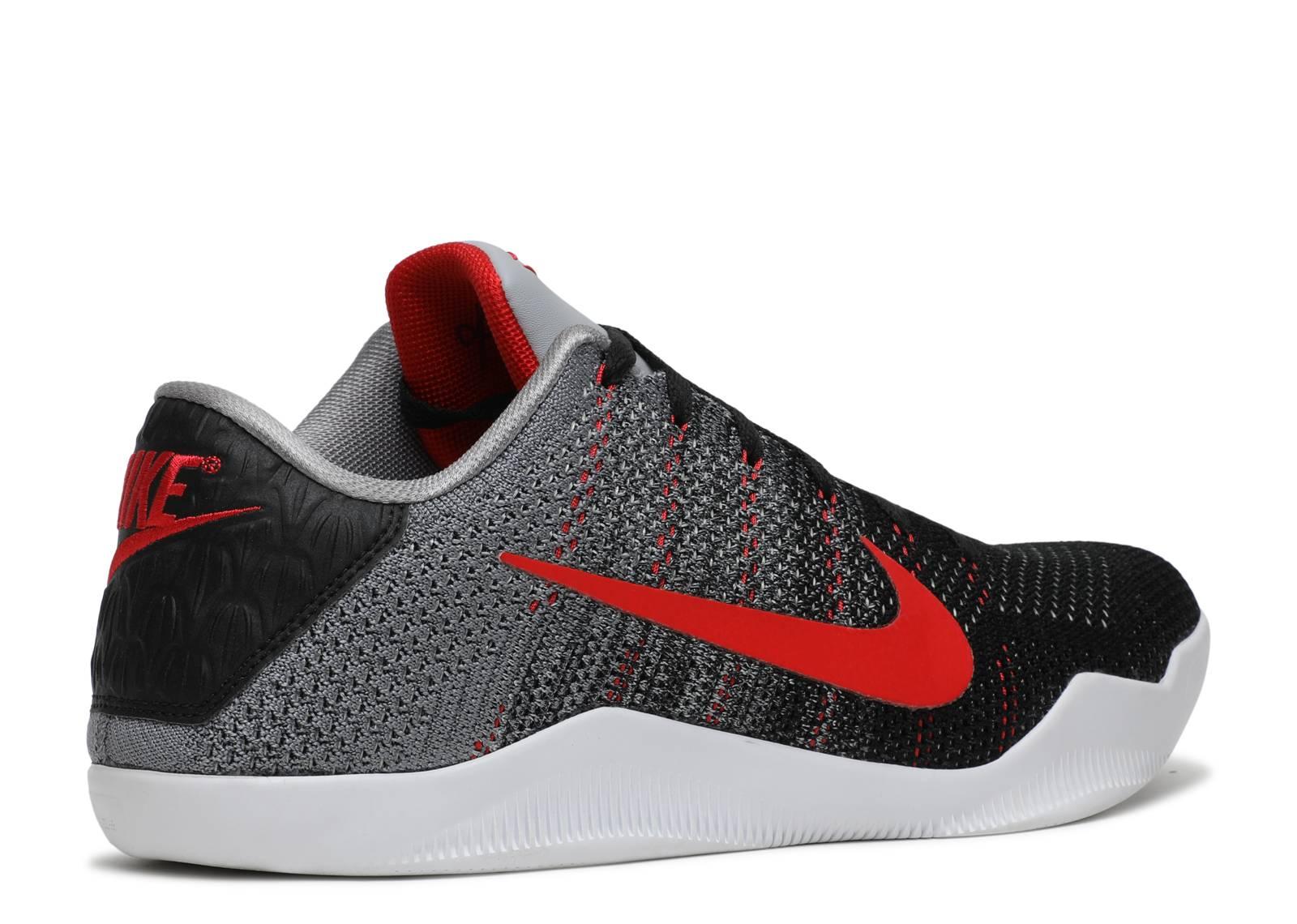 Nike Kobe 11 Elite Low \u201cTinker Hatfield\u201d Cool Grey/Black-University Red