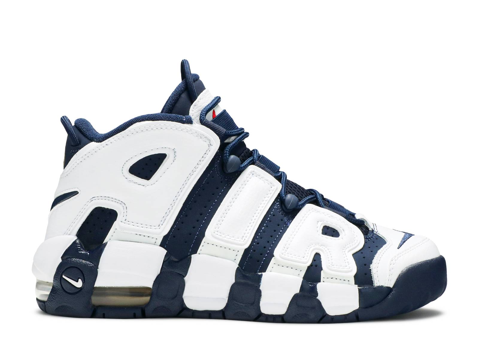 Air More Uptempo Gs 'Olympic' - 415082-104 - Size 5 - Us Size ibQBX