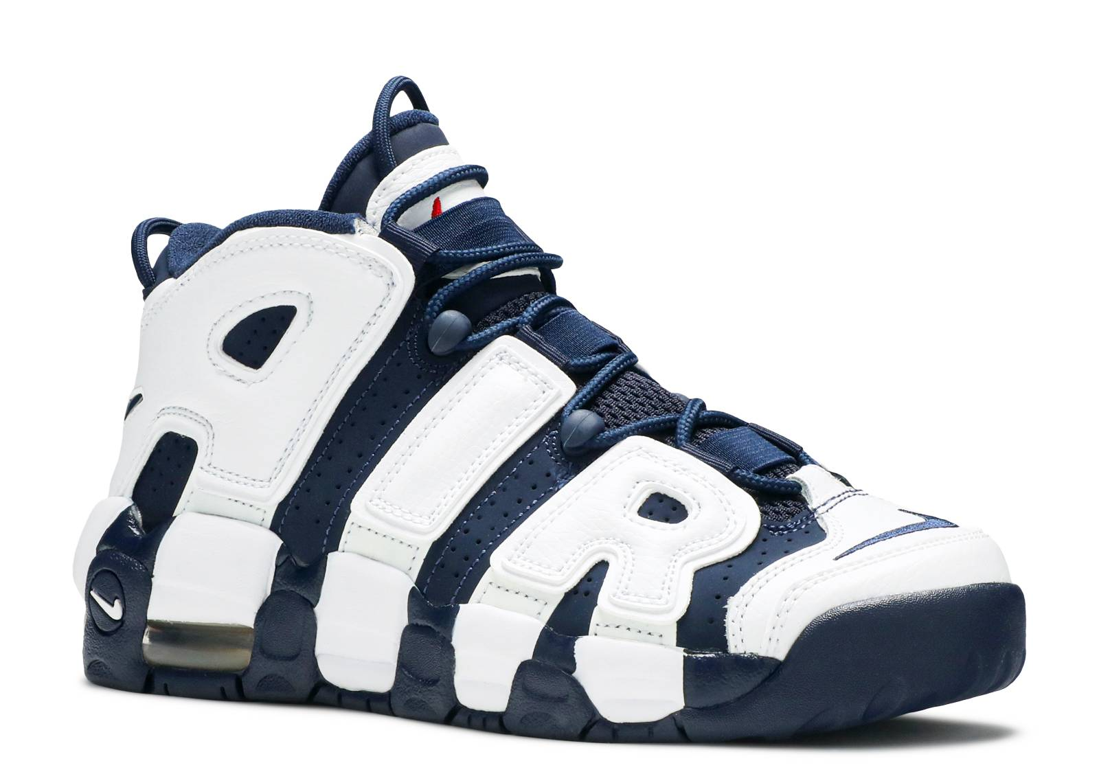 Nike Mens Air More Uptempo Mid Basketball Shoe