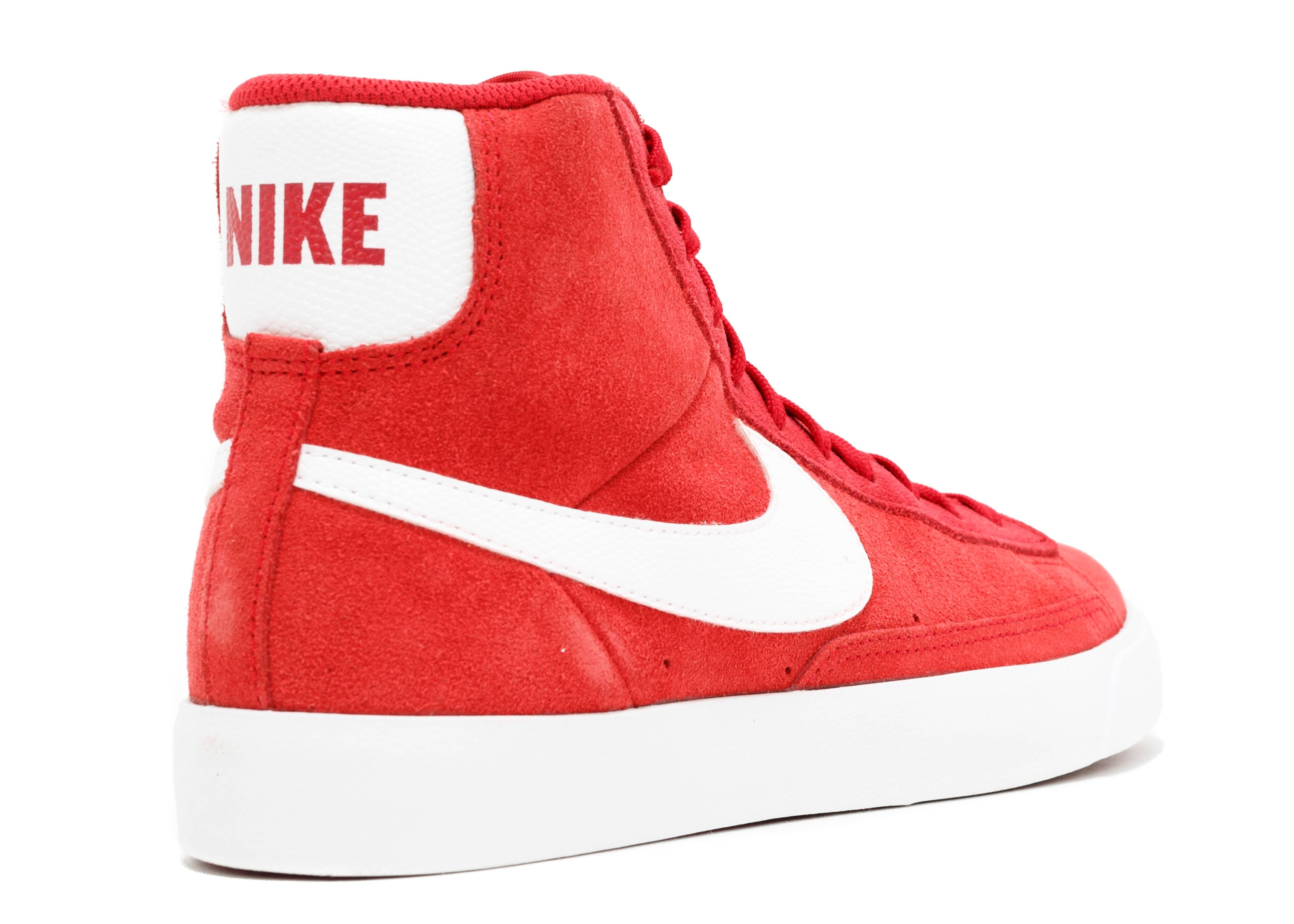 quality design 944c9 7f798 blazer mid gym redwhite-gym red-tm orng