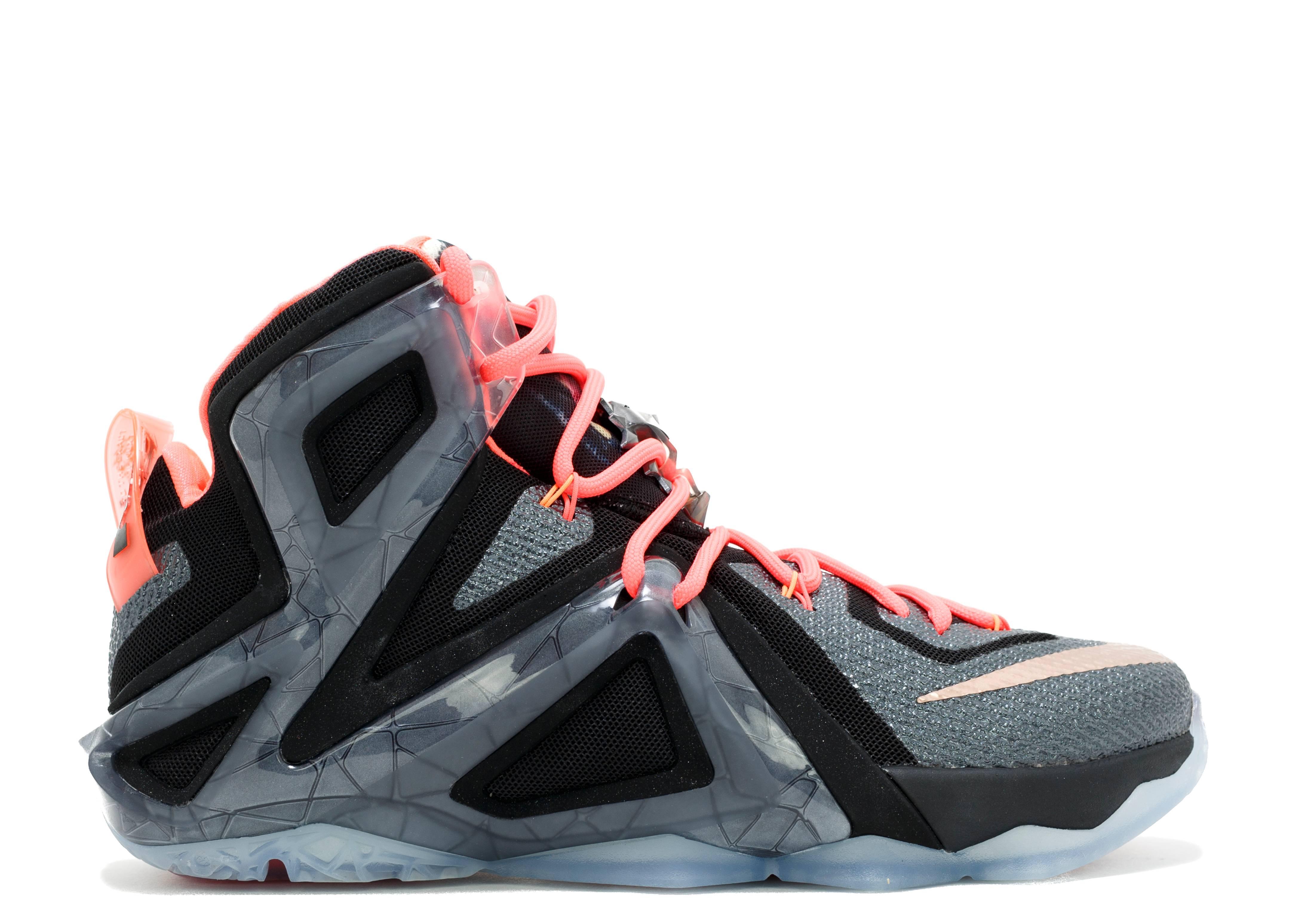9b4246bf731f Lebron 12 Elite - Nike - 724559 091 - black mtlc rd brnz-white-ht lv ...