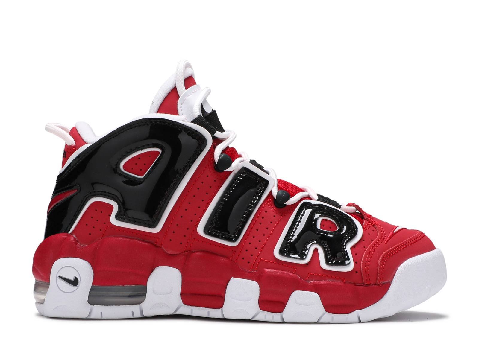 aa1747a1aab7 Air More Uptempo (gs) - Nike - 415082 600 - varsity red white-black ...