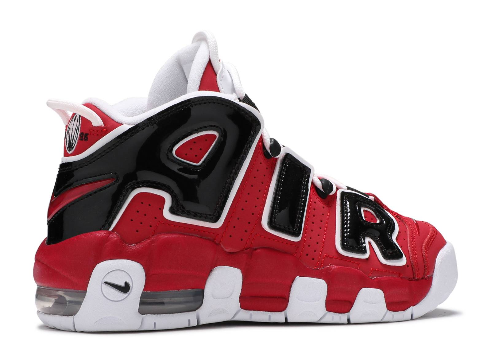 Air More Uptempo (gs) - Nike - 415082 600 - varsity red white-black ... 964a134833