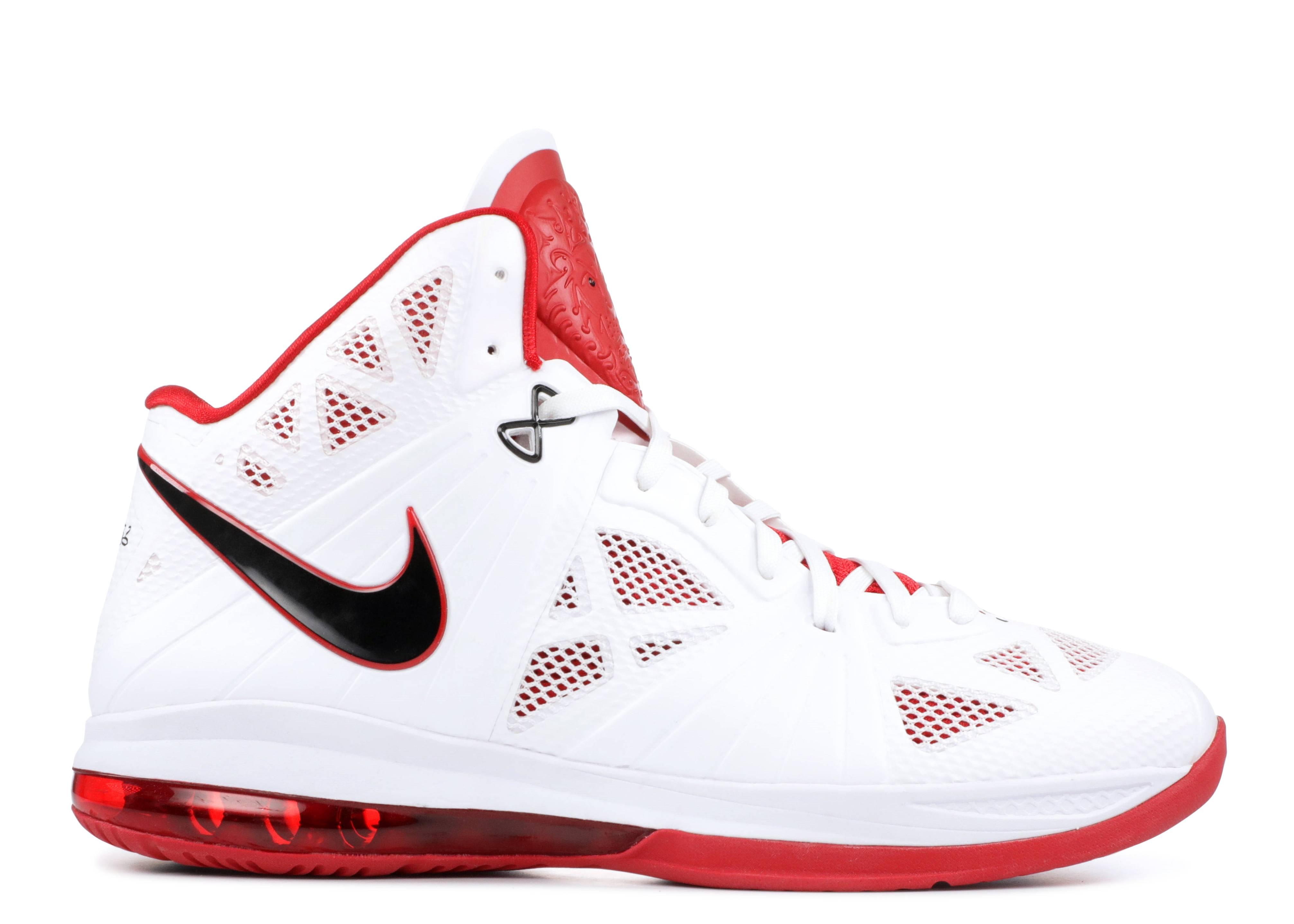 ac16fa65bb7f Lebron 8 P.s. - Nike - 441946 100 - white black-sport red