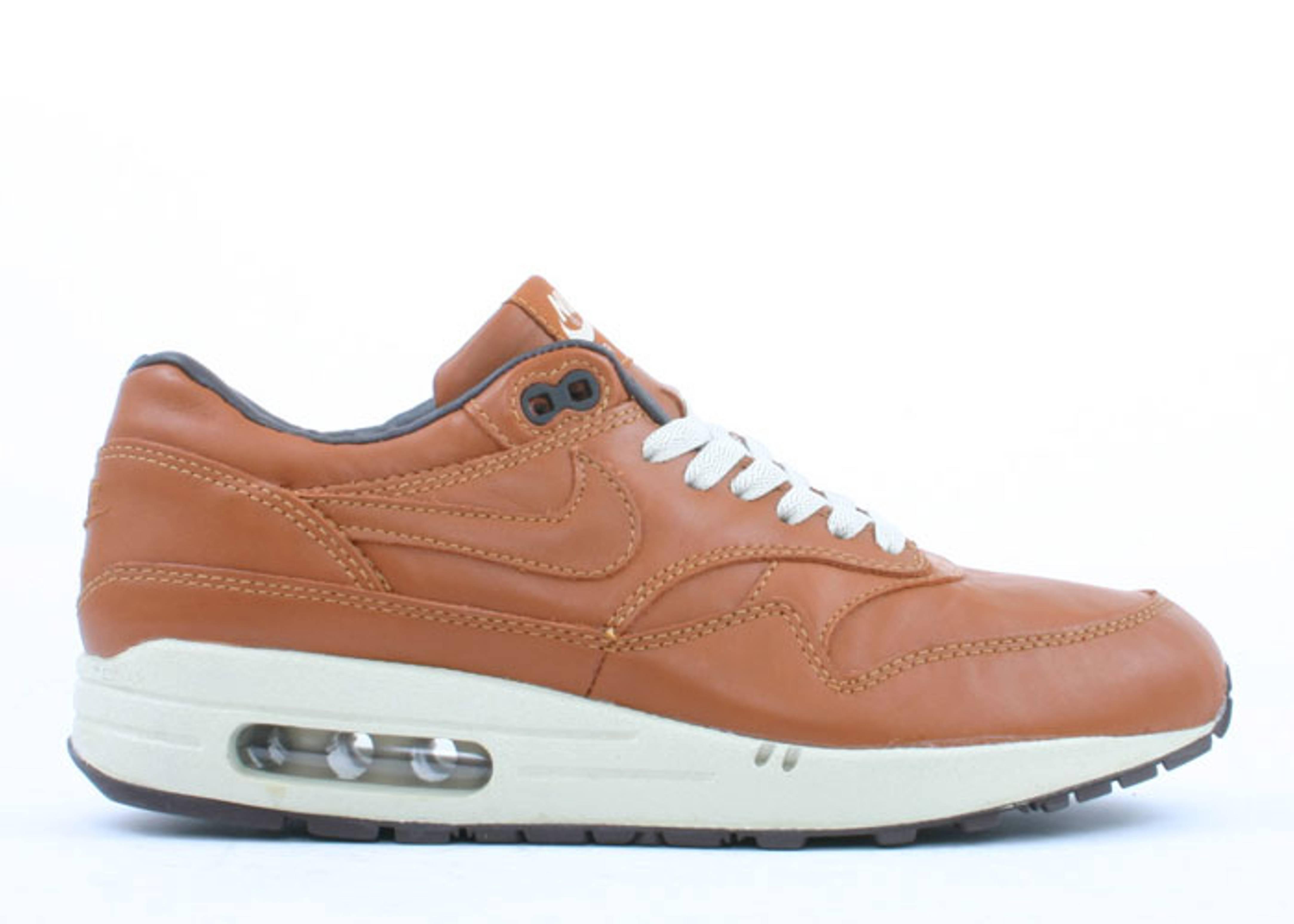 air max 1 premium leather beige