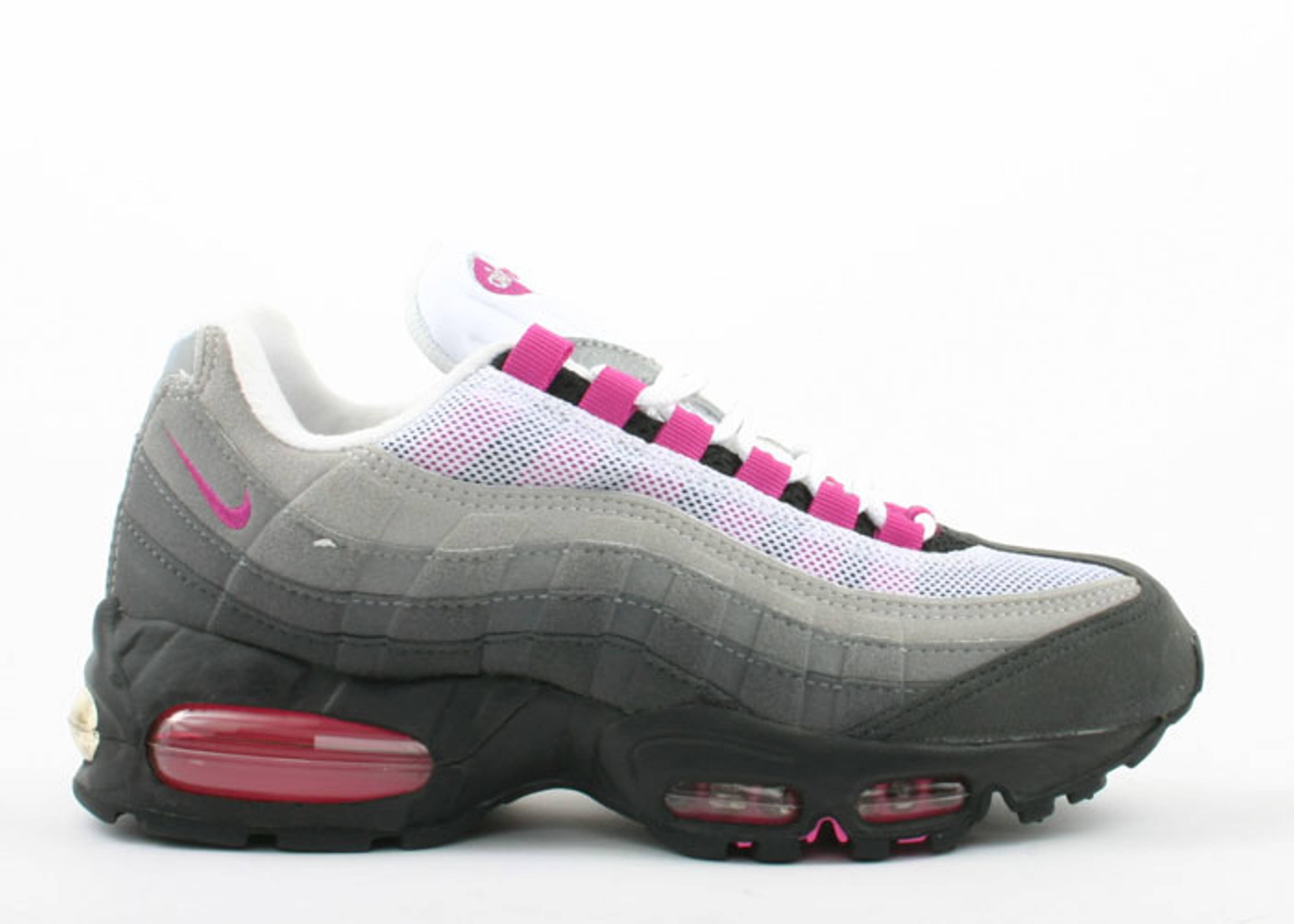 Wmns Air Max 95 Sc Nike 605097 061 Black Fire Pink Flight Club