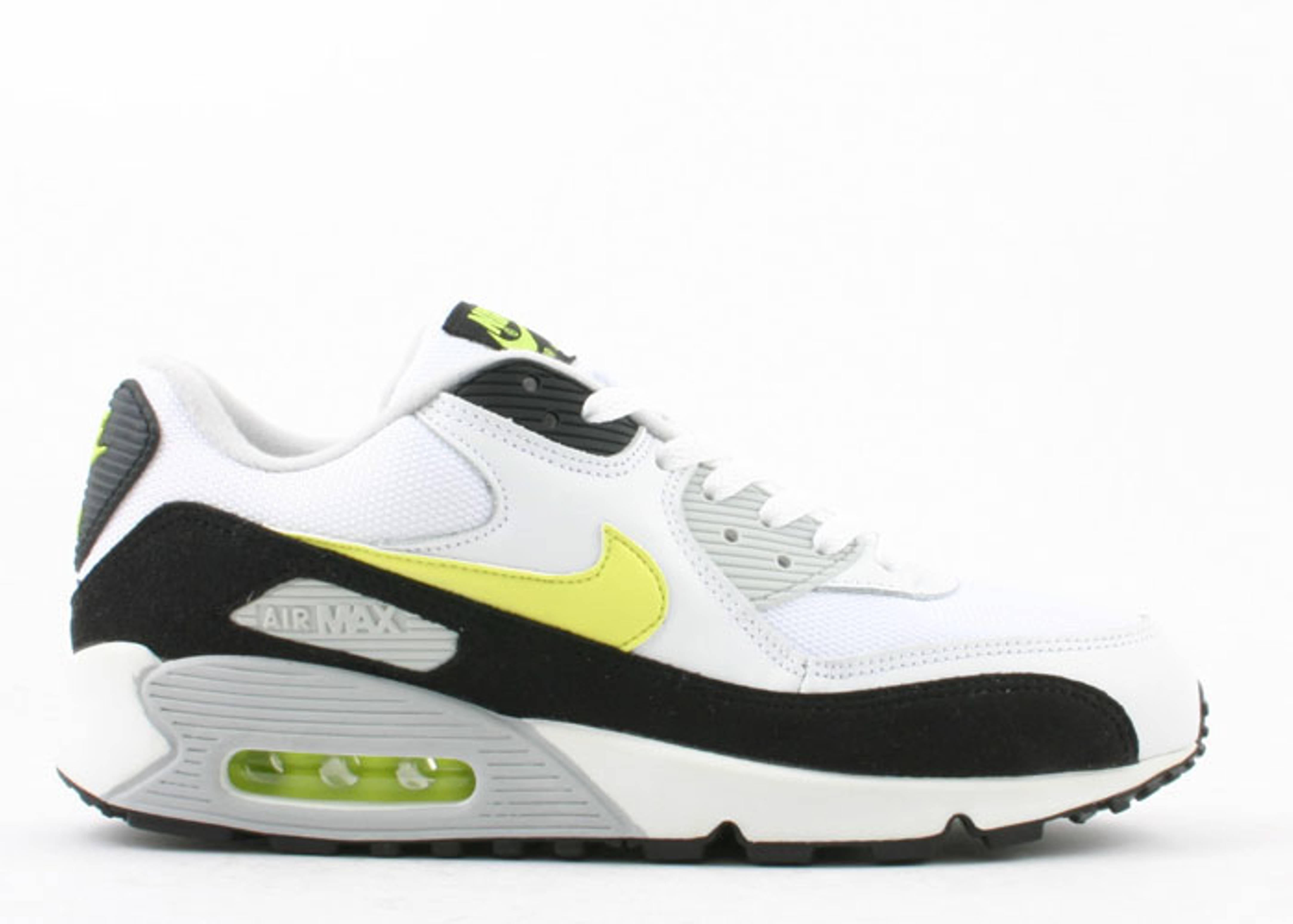 low priced 106c4 c19d2 Air Max 90 - Nike - 307905 131 - white hot lime-black-neutral grey   Flight  Club