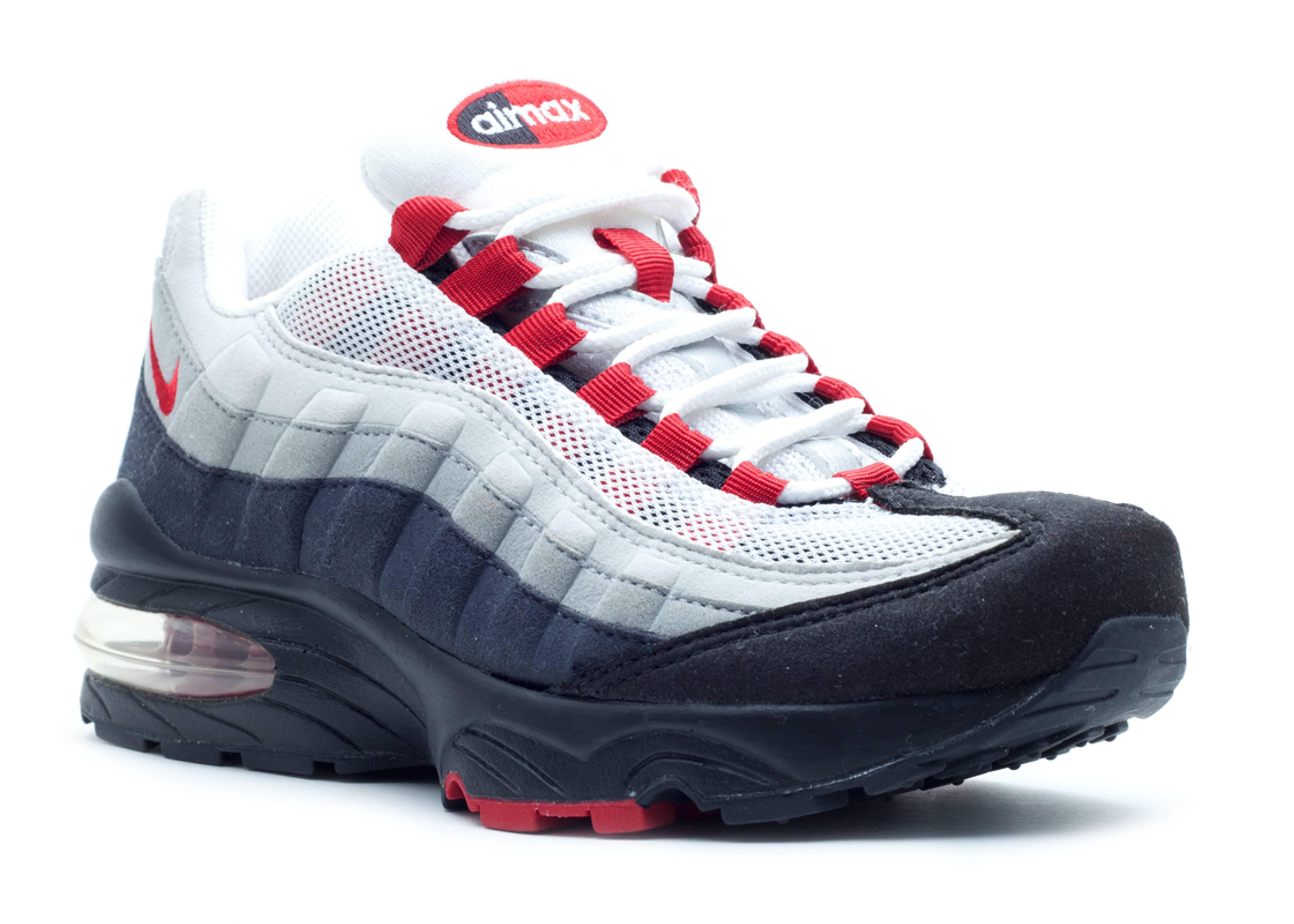 sale retailer 95fa5 6fa5c Air Max 95 - Nike - 307565 062 - white/black-chile red ...