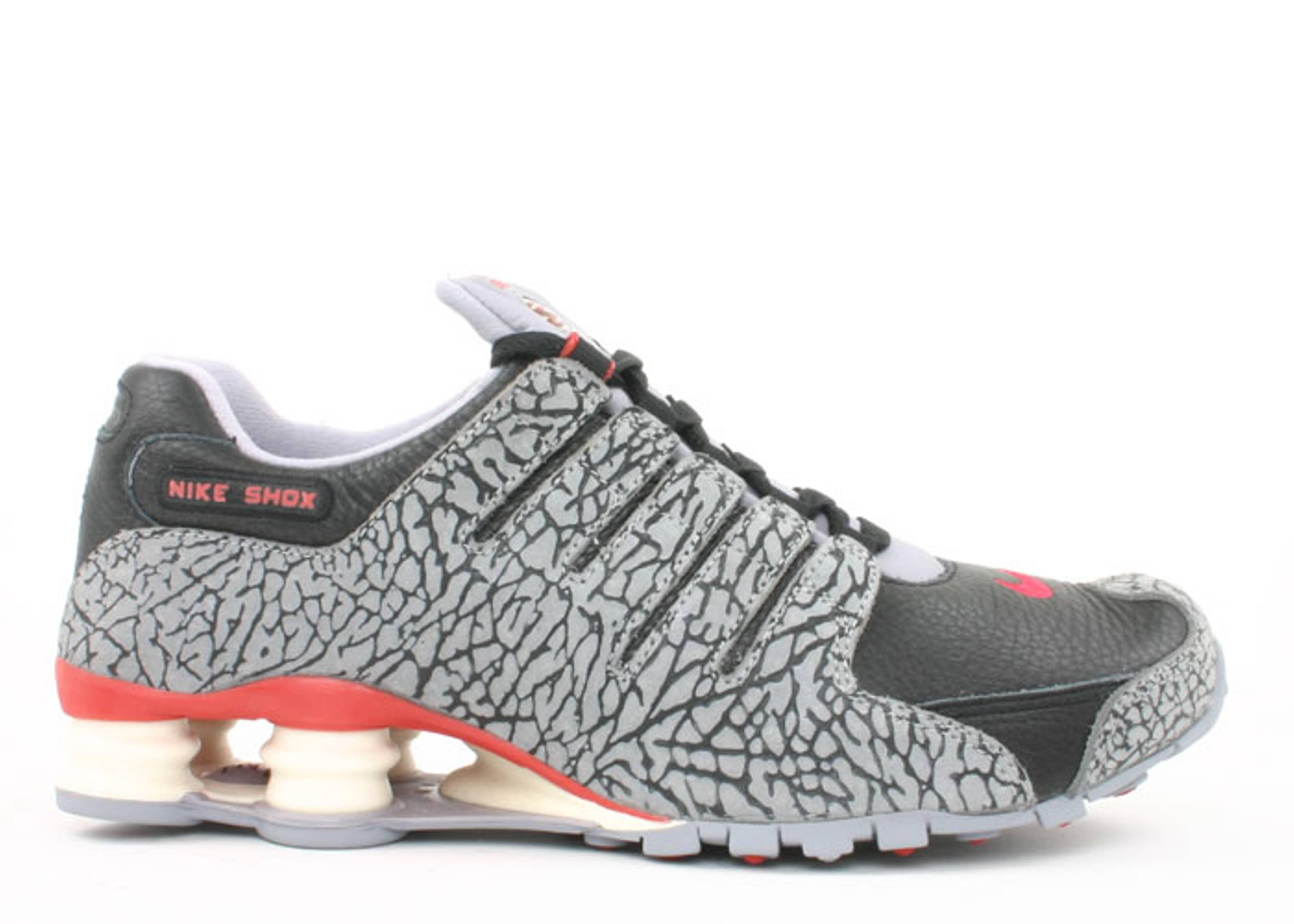 Nike Shox Grey And Teal