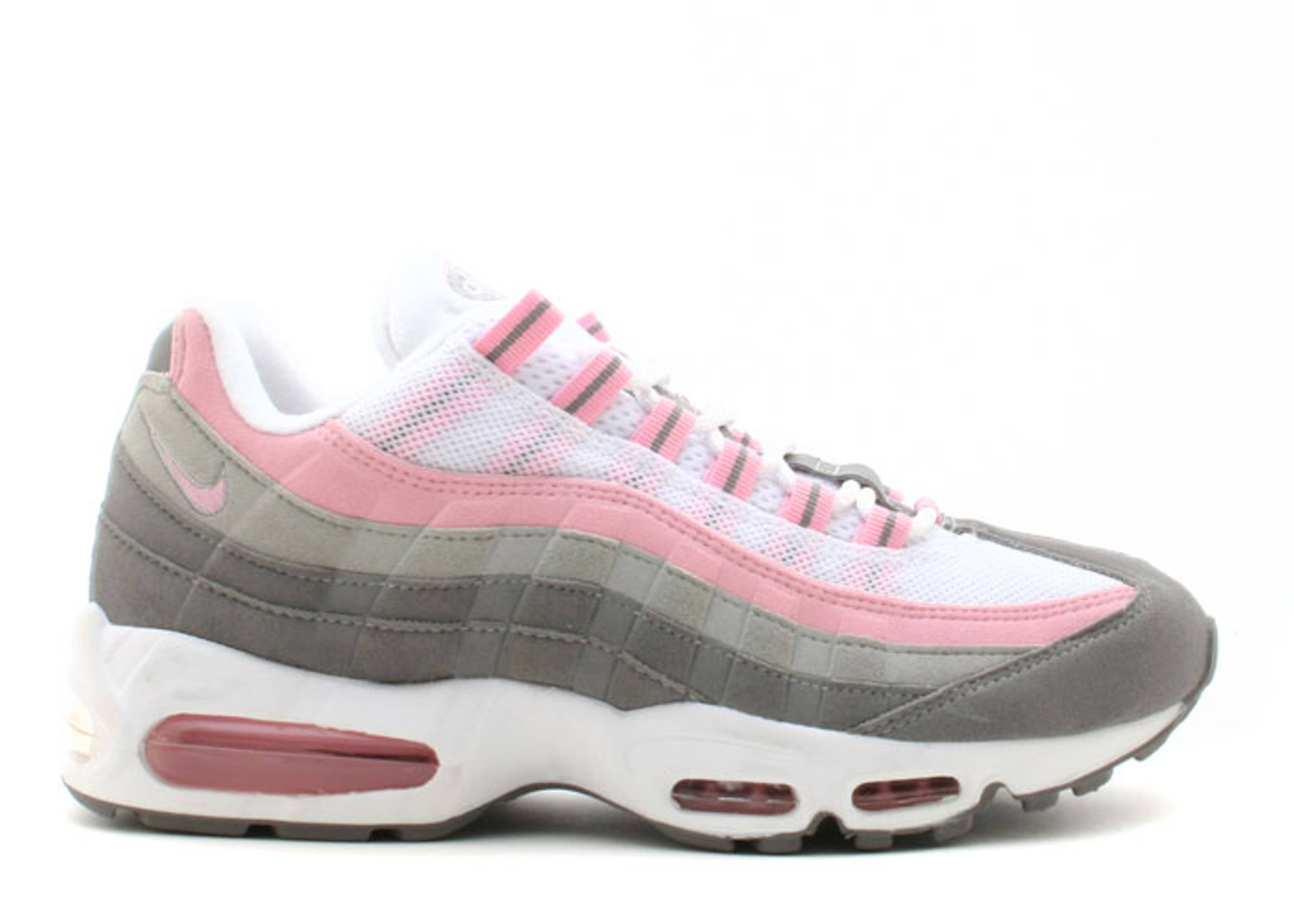 Grey And Pink Air Max 95  6eb32dfb96
