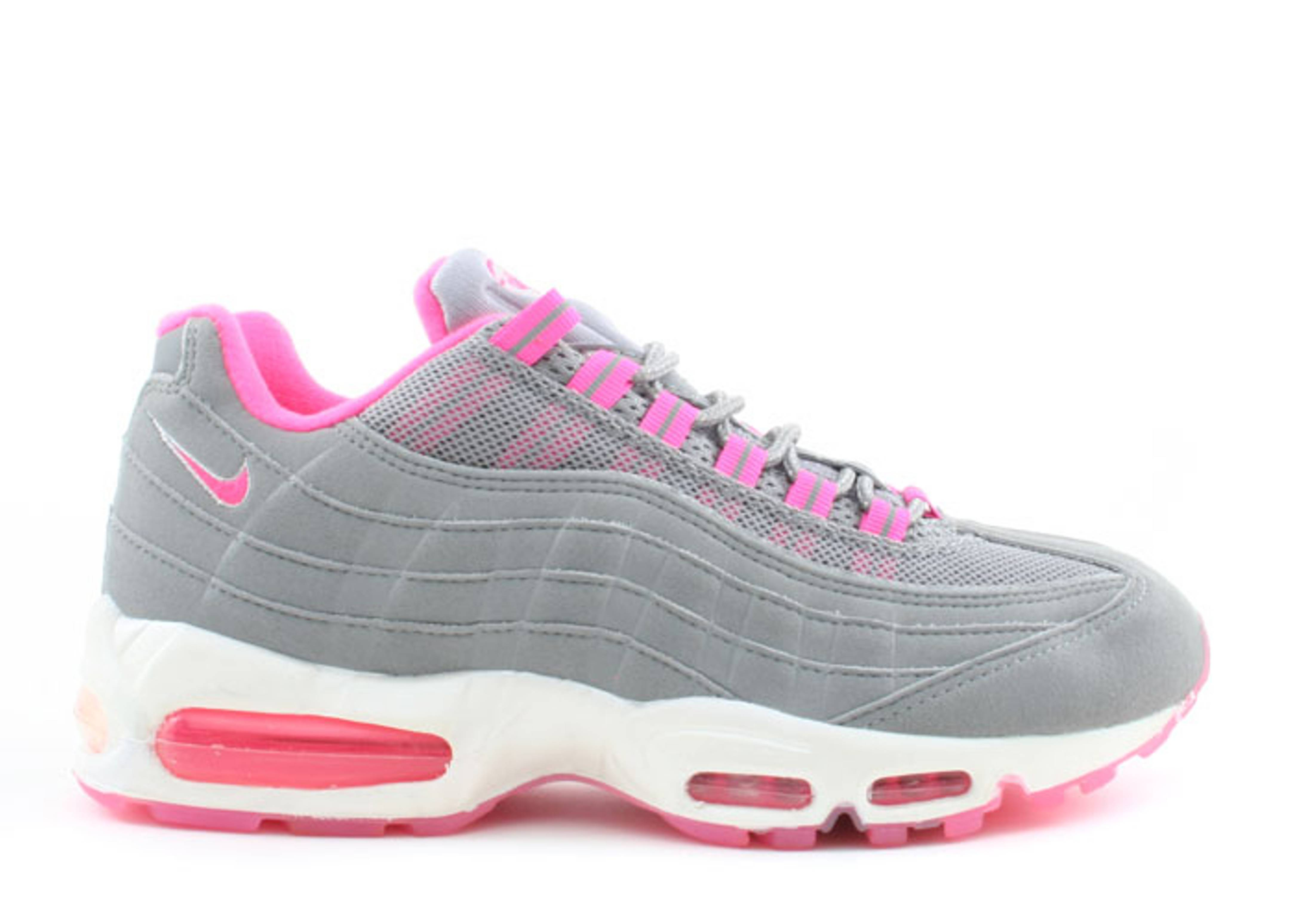faf2515fe2d81 wholesale air max 95 lyserød and gray c9a27 d3dc7