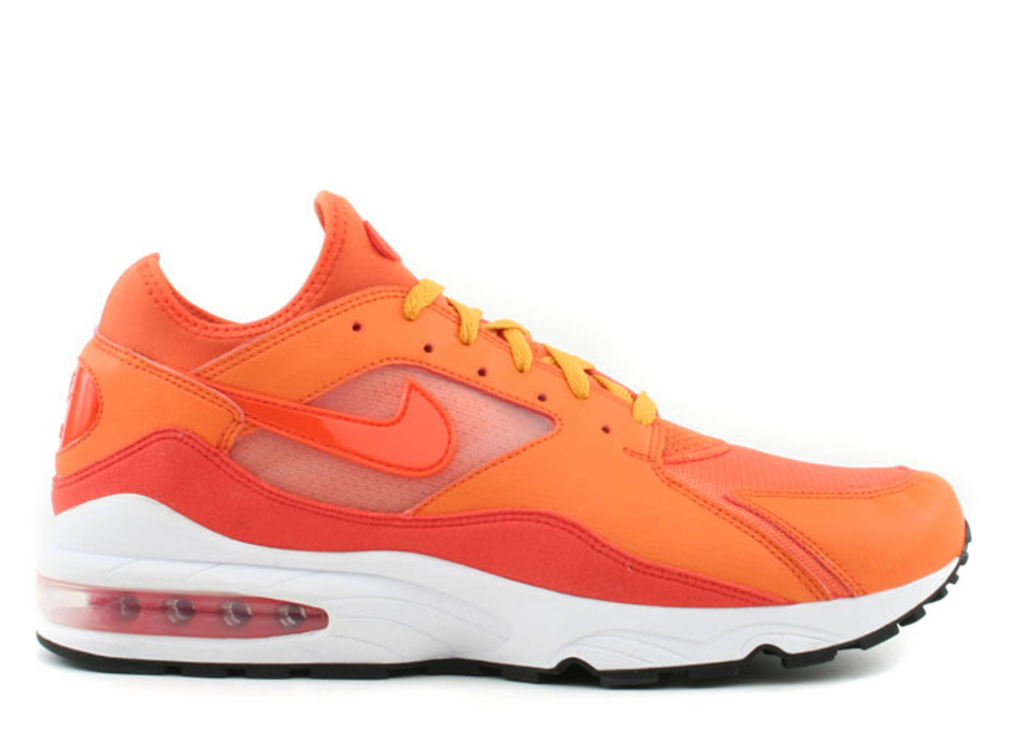 White Nike Socks With Orange Shoes