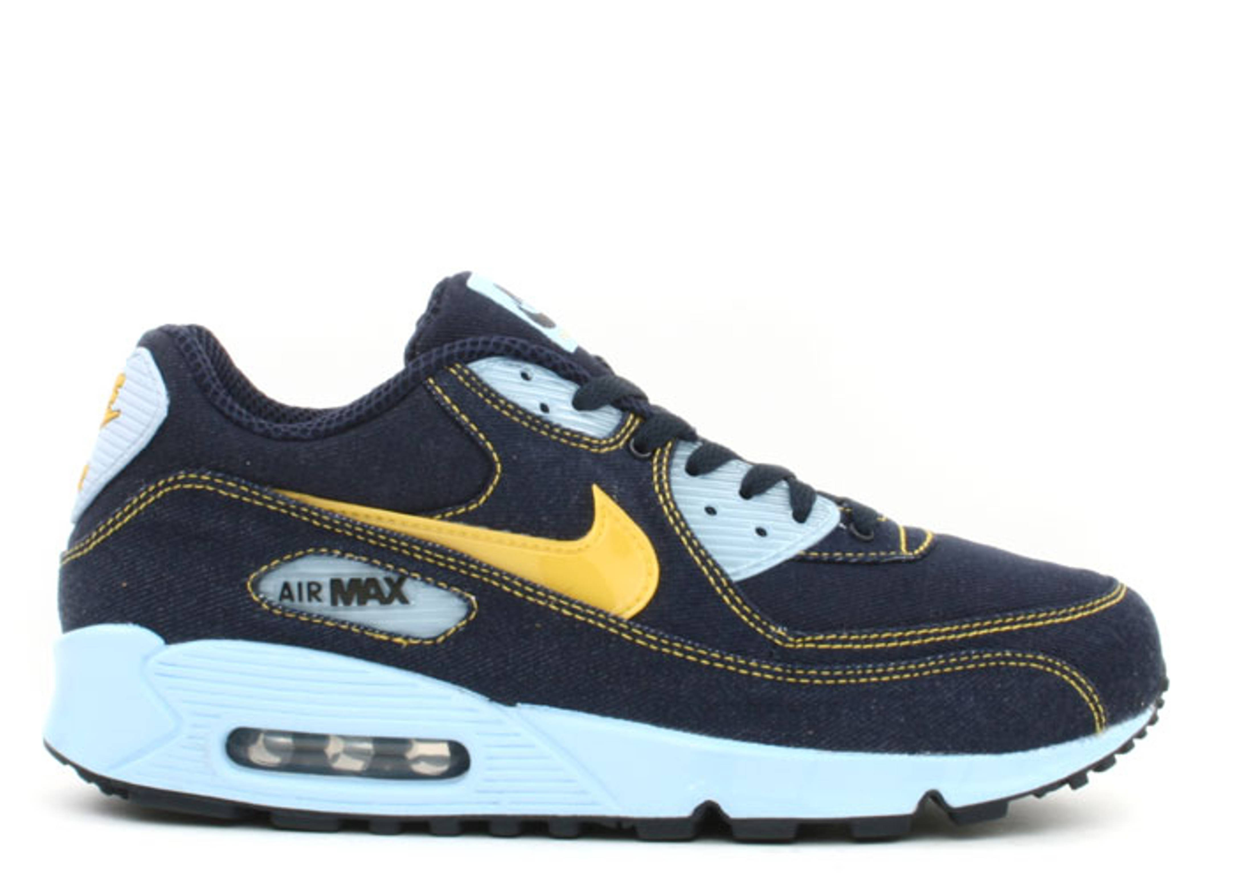 The Best Choice US Men's Nike Air Max 90 Ice Running Shoes Barely BlueWhitePhoto Blue Hot Sale Online