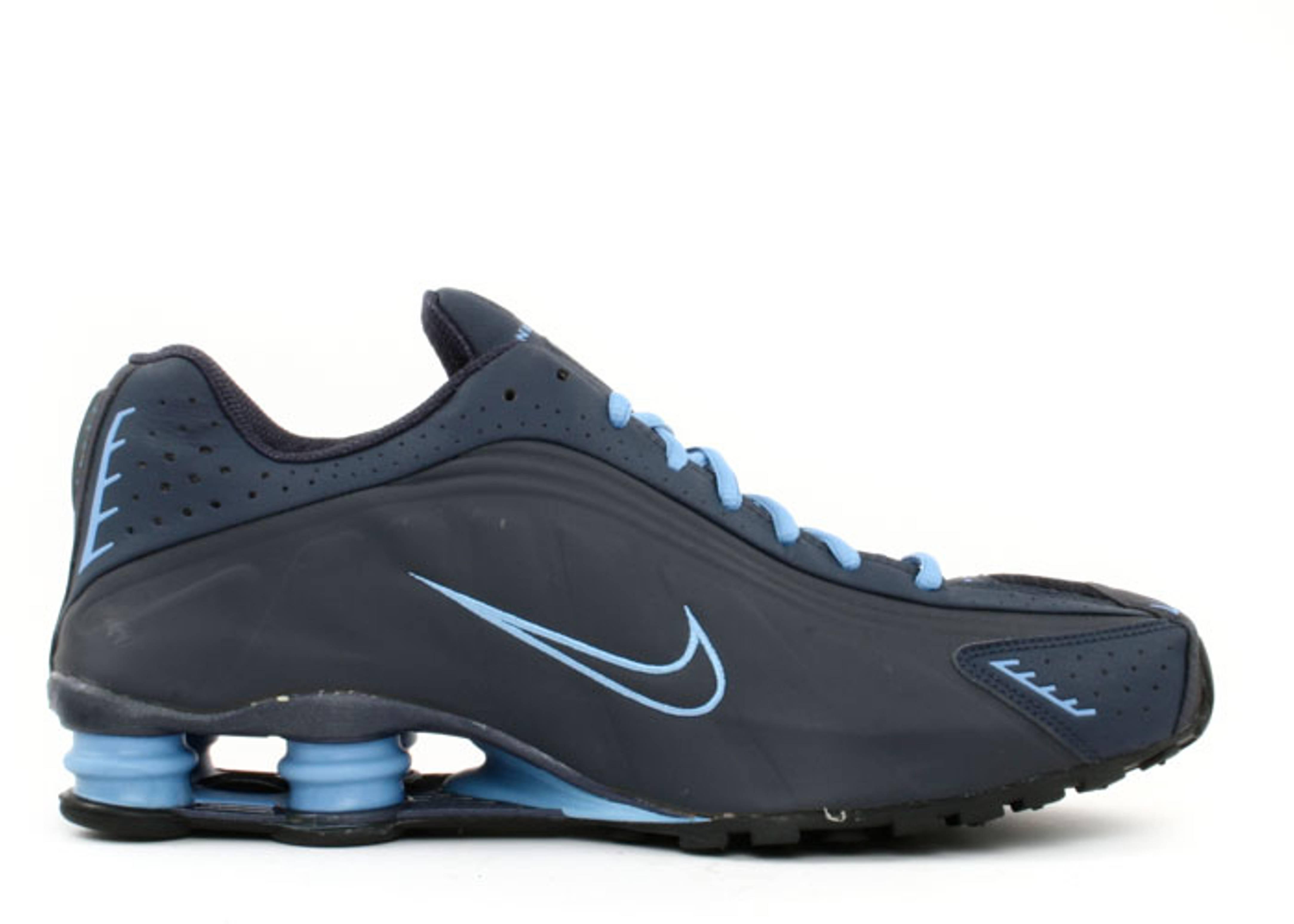 online store e3e37 0441a Shox R4 B - Nike - 302534 441 - obsidian columbia blue   Flight Club