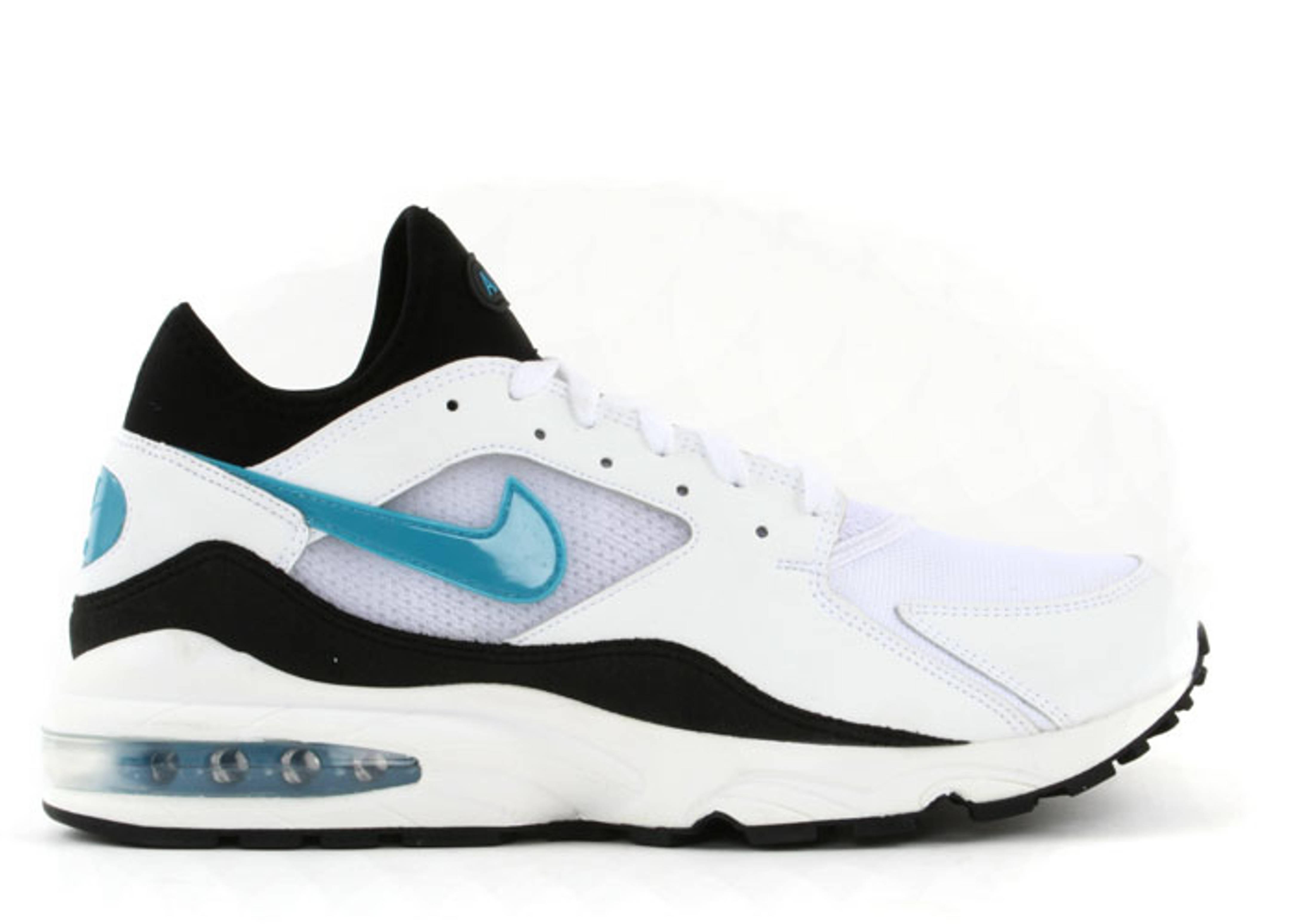 b8b160230de2 Air Max 93 Classic - Nike - 313095 141 - white laser blue-black ...