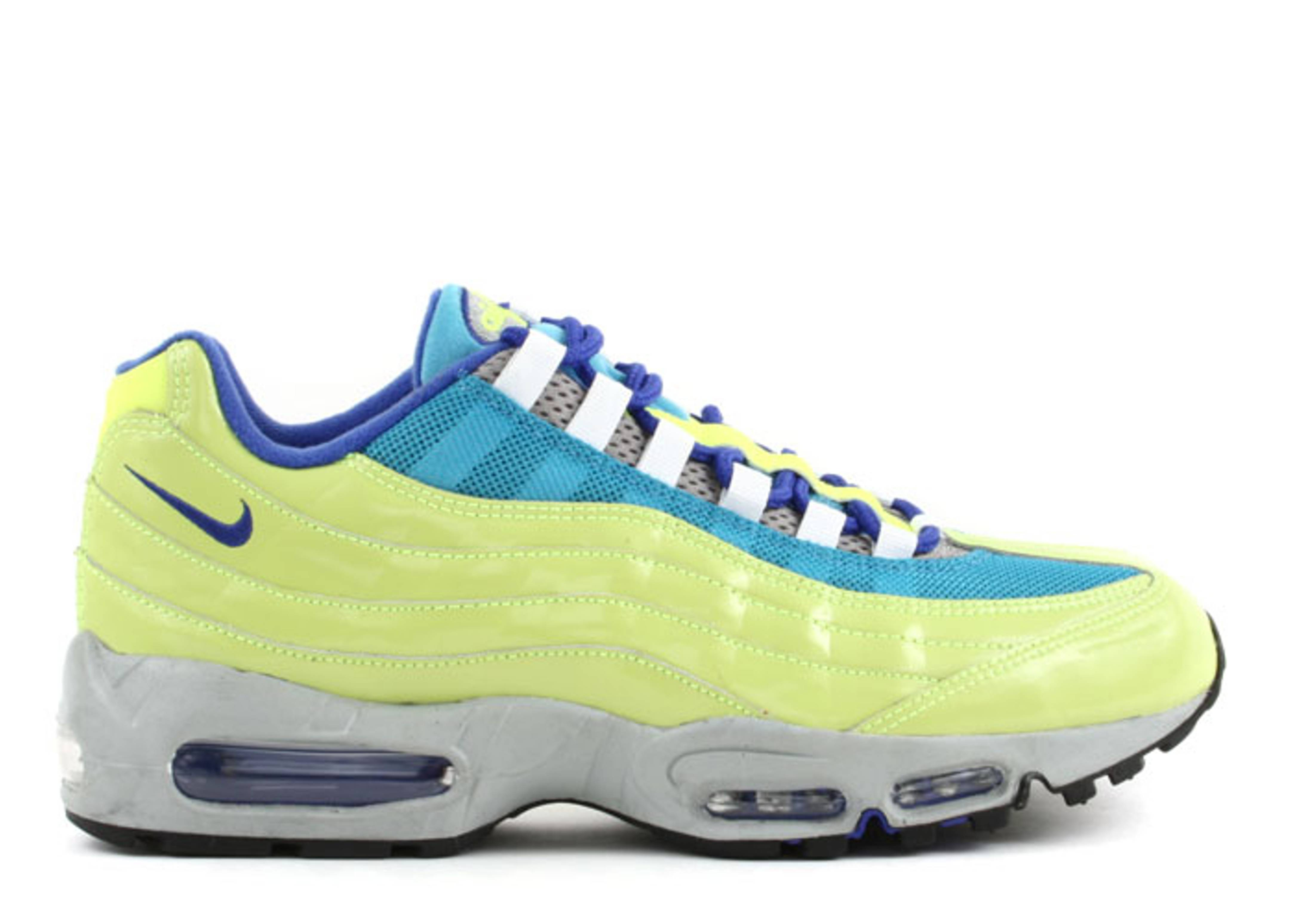 Air Max 95 Id Nike 314350 992 c neon greenteal royal