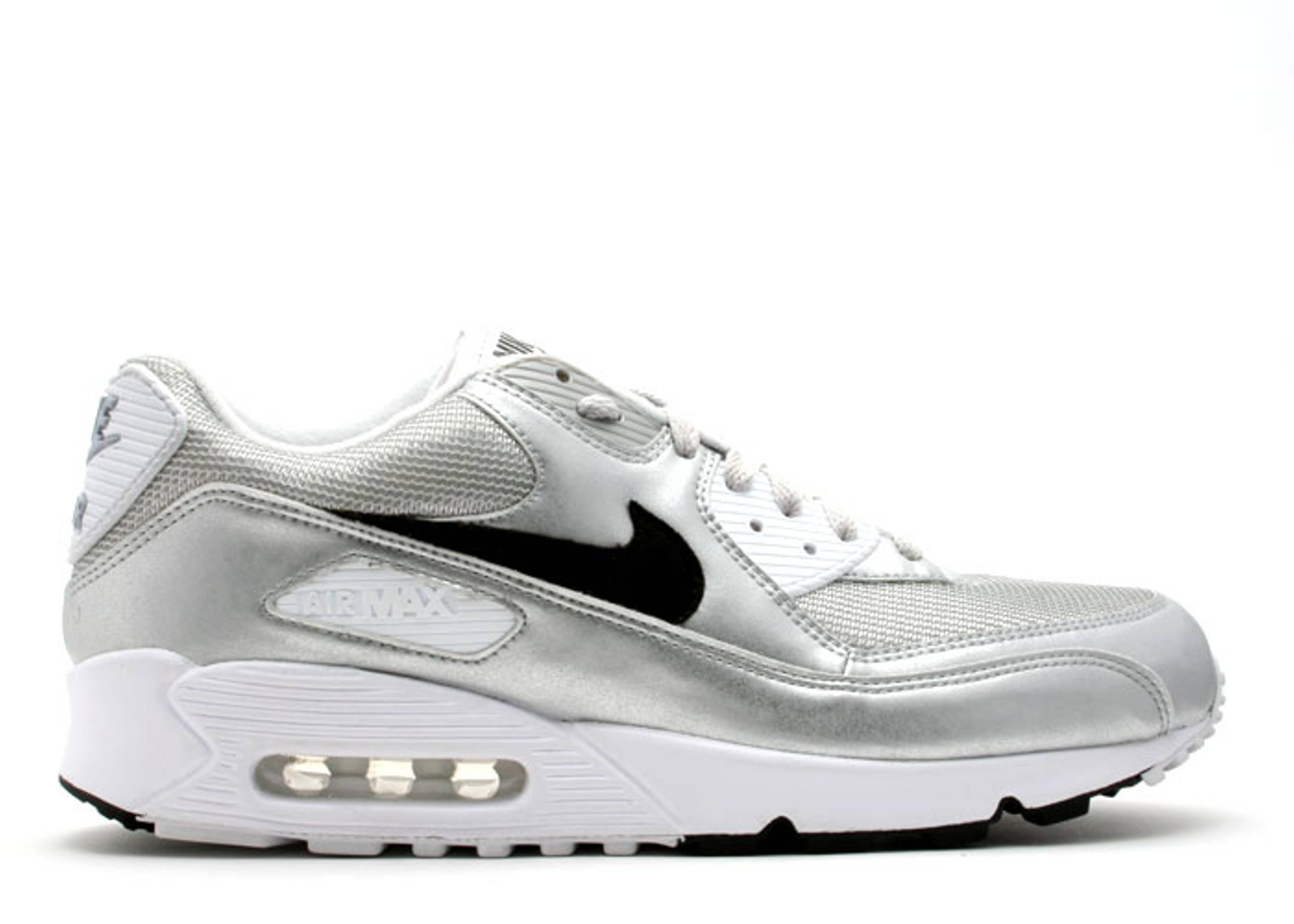 2air max 90 silver
