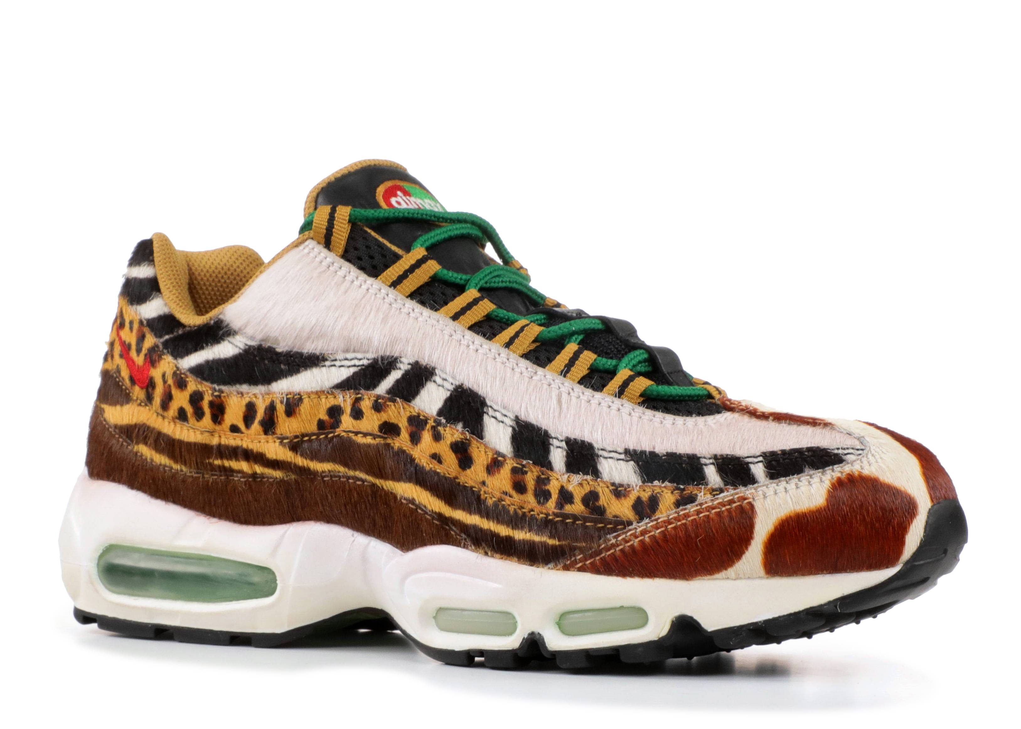 new arrival b820f bda23 ... italy air max 95 supreme animal pack nike 314993 261 pony sport red  classic green wheat