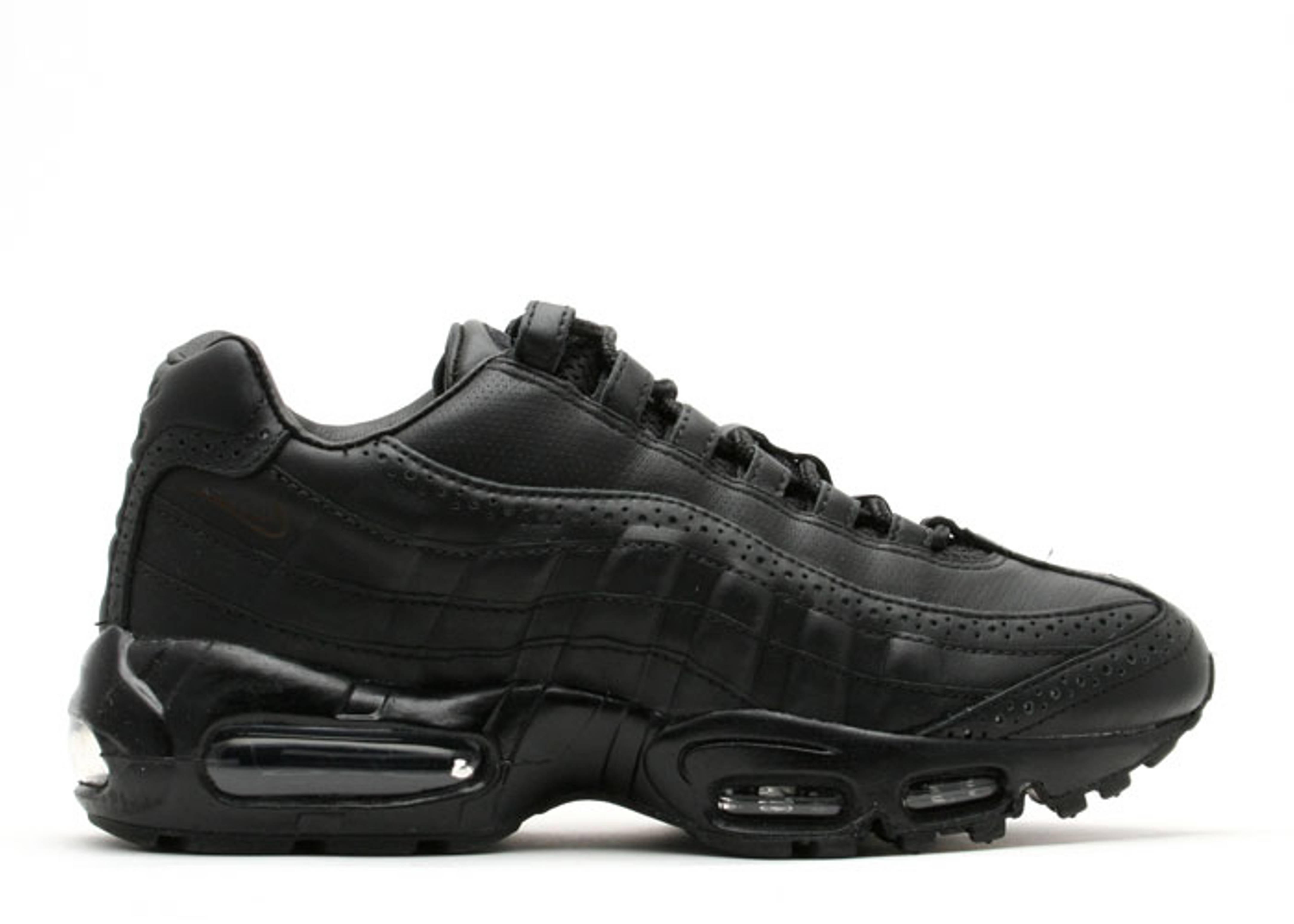 low priced 41517 b5b6f Air Max 95 Supreme - Nike - 314993 001 - black/black ...