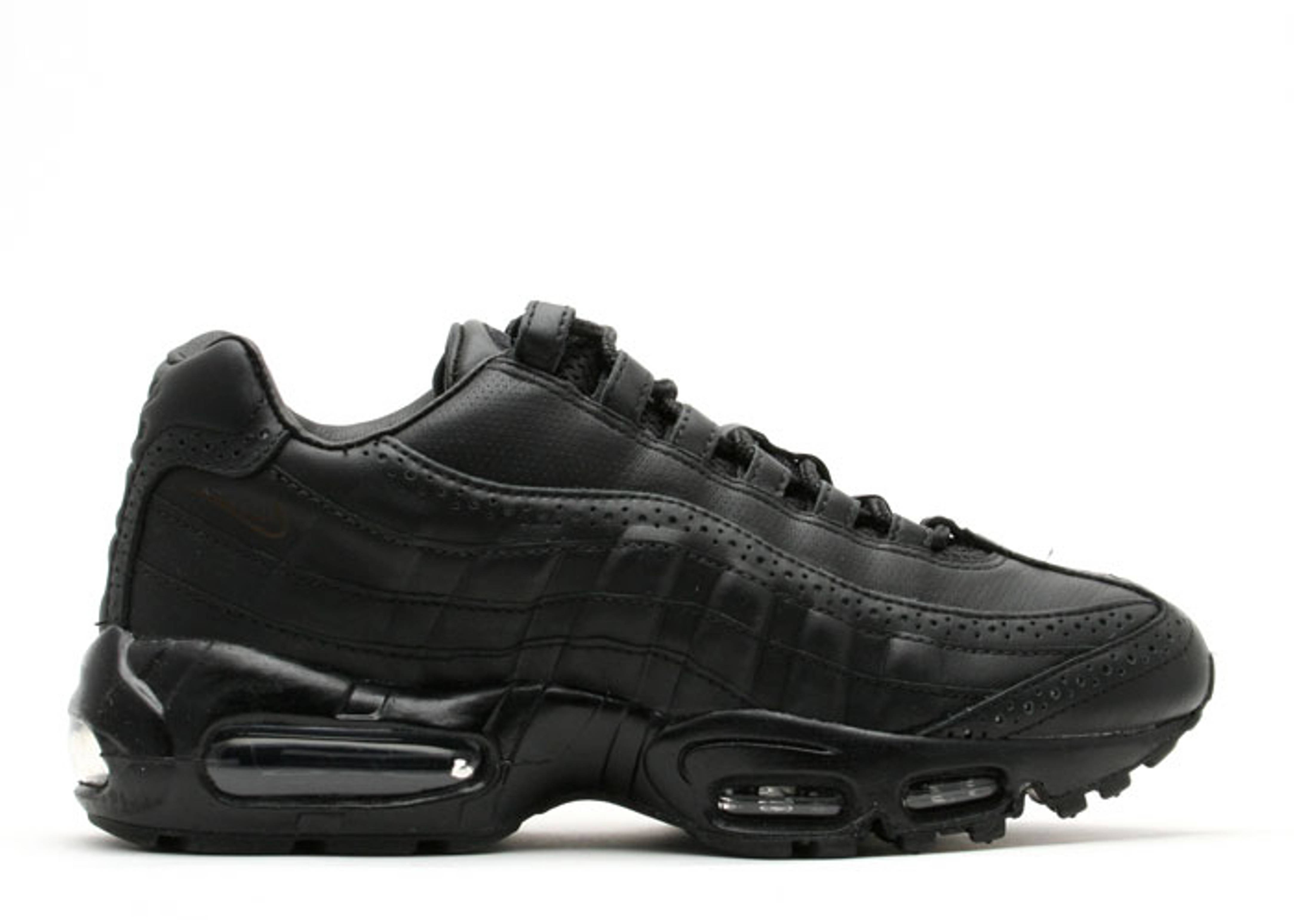 low priced 35a2e 2d298 Air Max 95 Supreme - Nike - 314993 001 - black/black ...