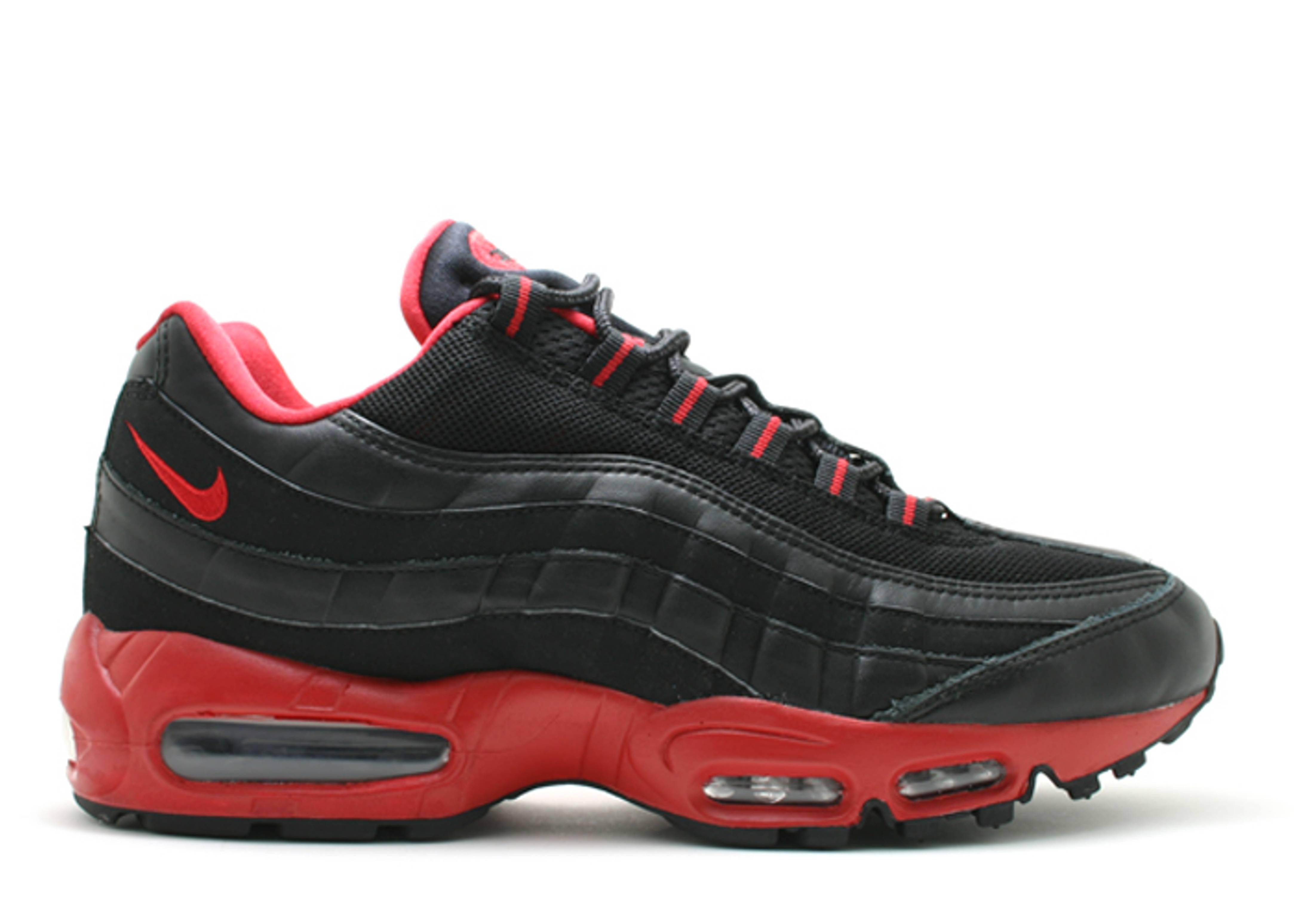 air max 95 blackvarsity red