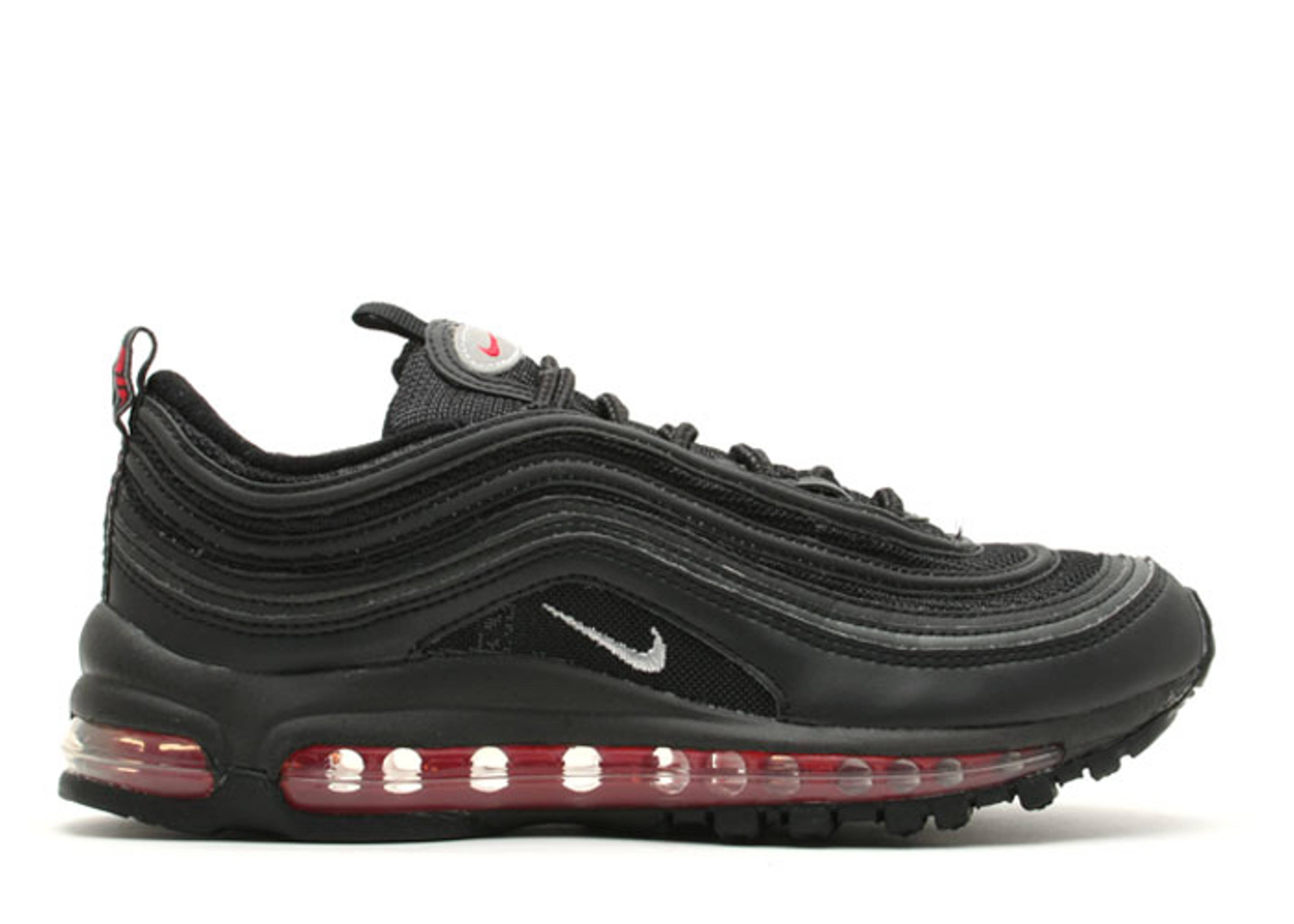 Nike Air Max 97 GS Black Reflective 'Pimento'