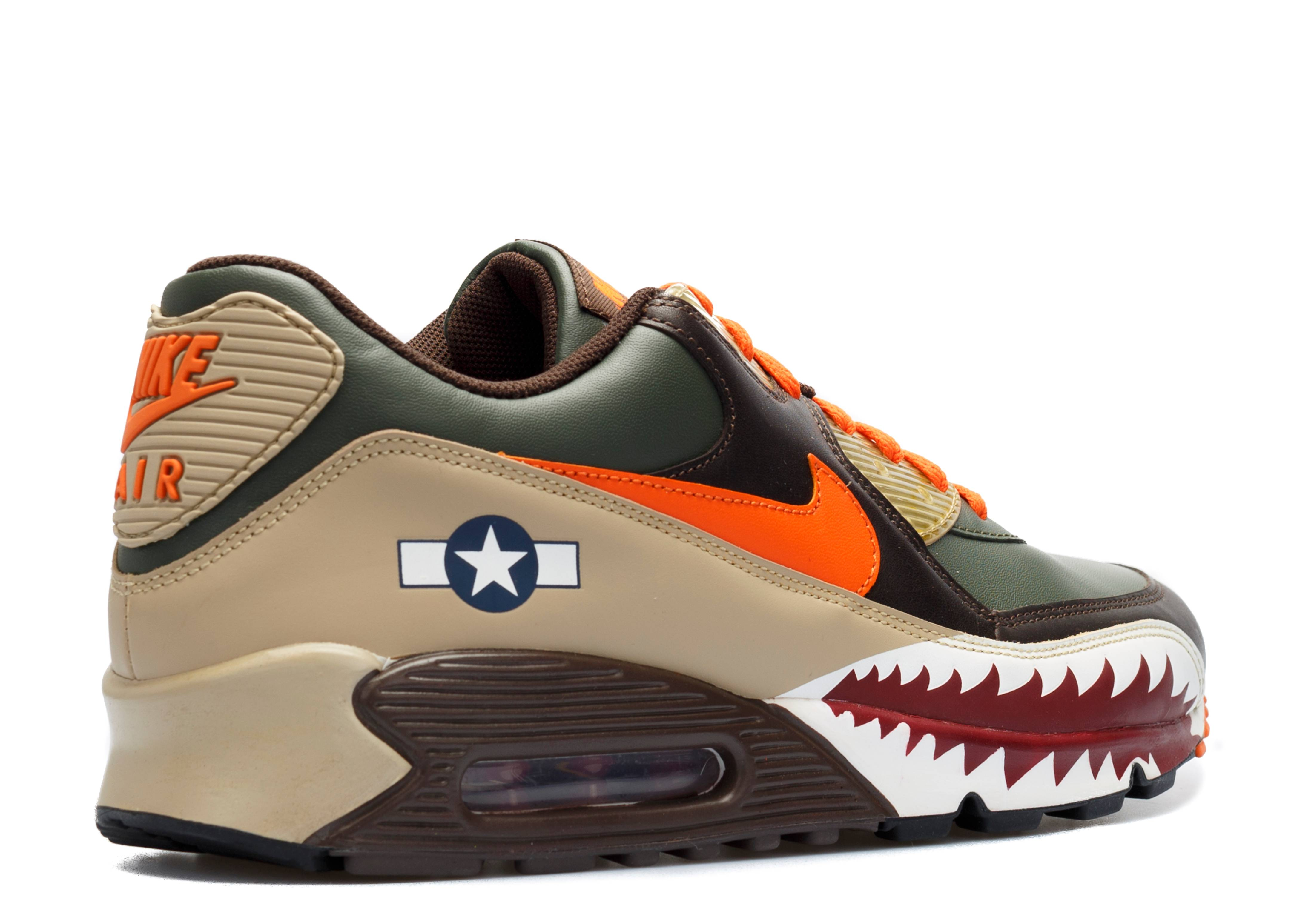 Escupir Mejor alcanzar  Air Max 90 Premium 'Warhawk' - Nike - 315728 381 - dark army/orange  blaze/dark cinder/tweed | Flight Club