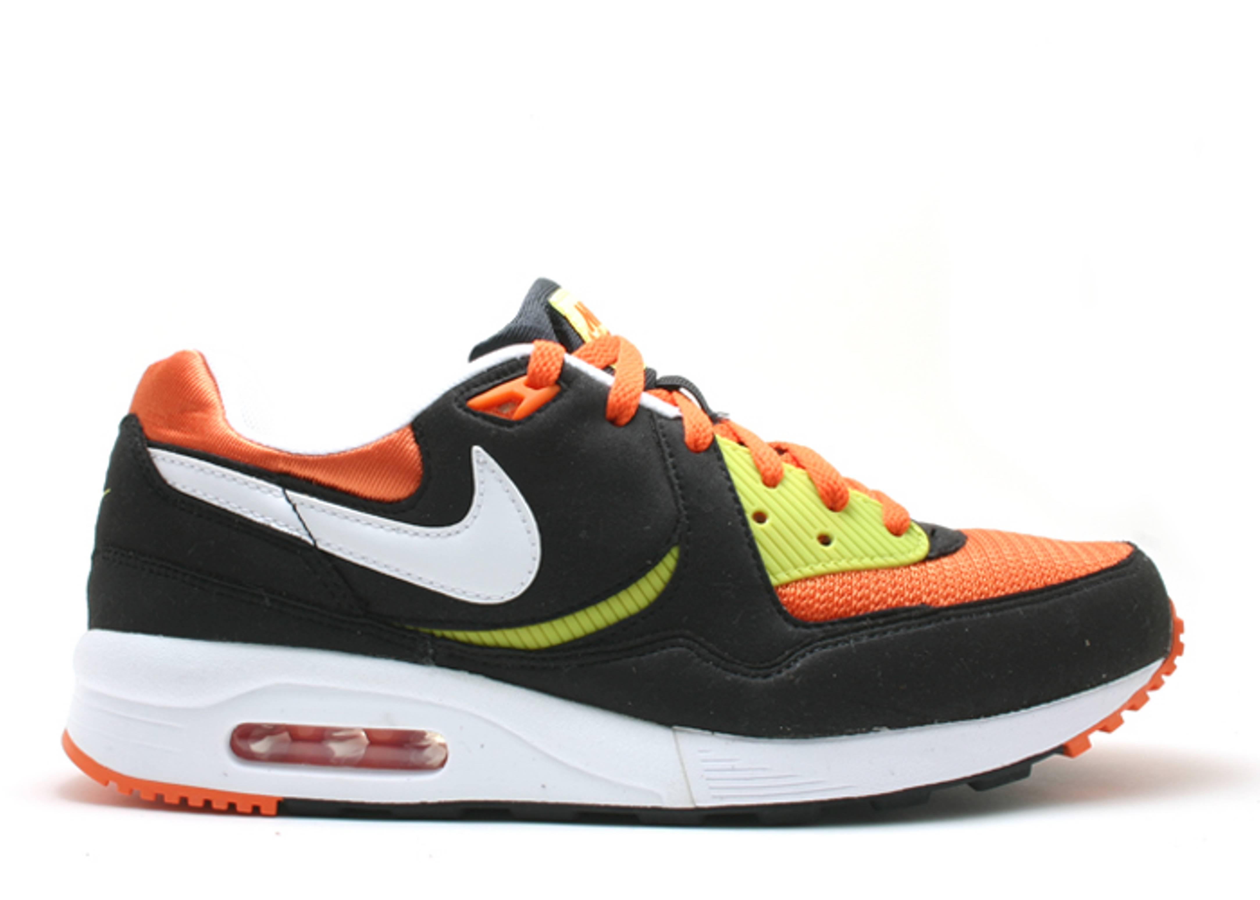 save off c9536 acee0 Air Max Light - Nike - 315827 014 - blackwhite-bright cactus-orange blaze   Flight Club