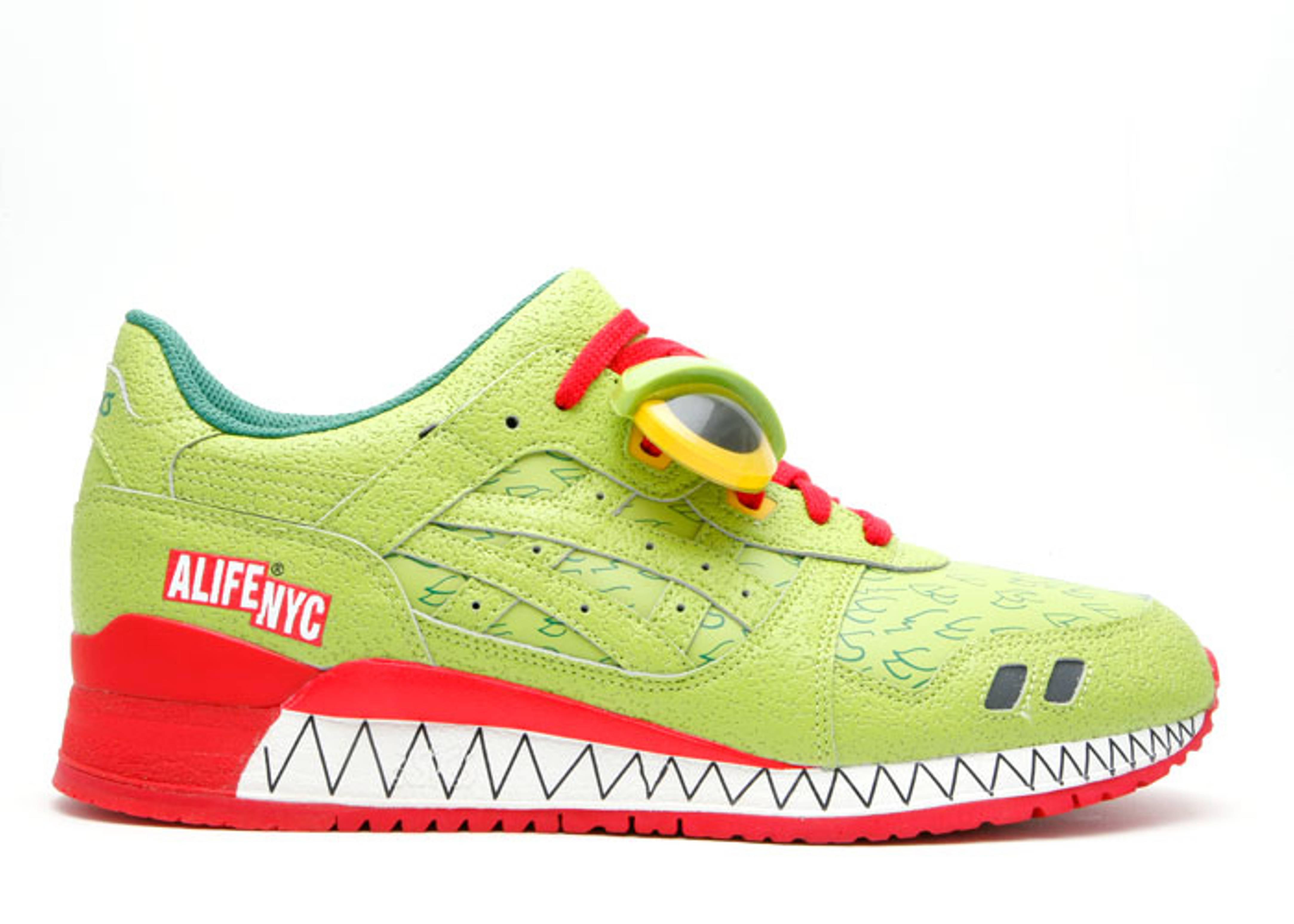 """gel-lyte 3 """"alife green monster"""""""