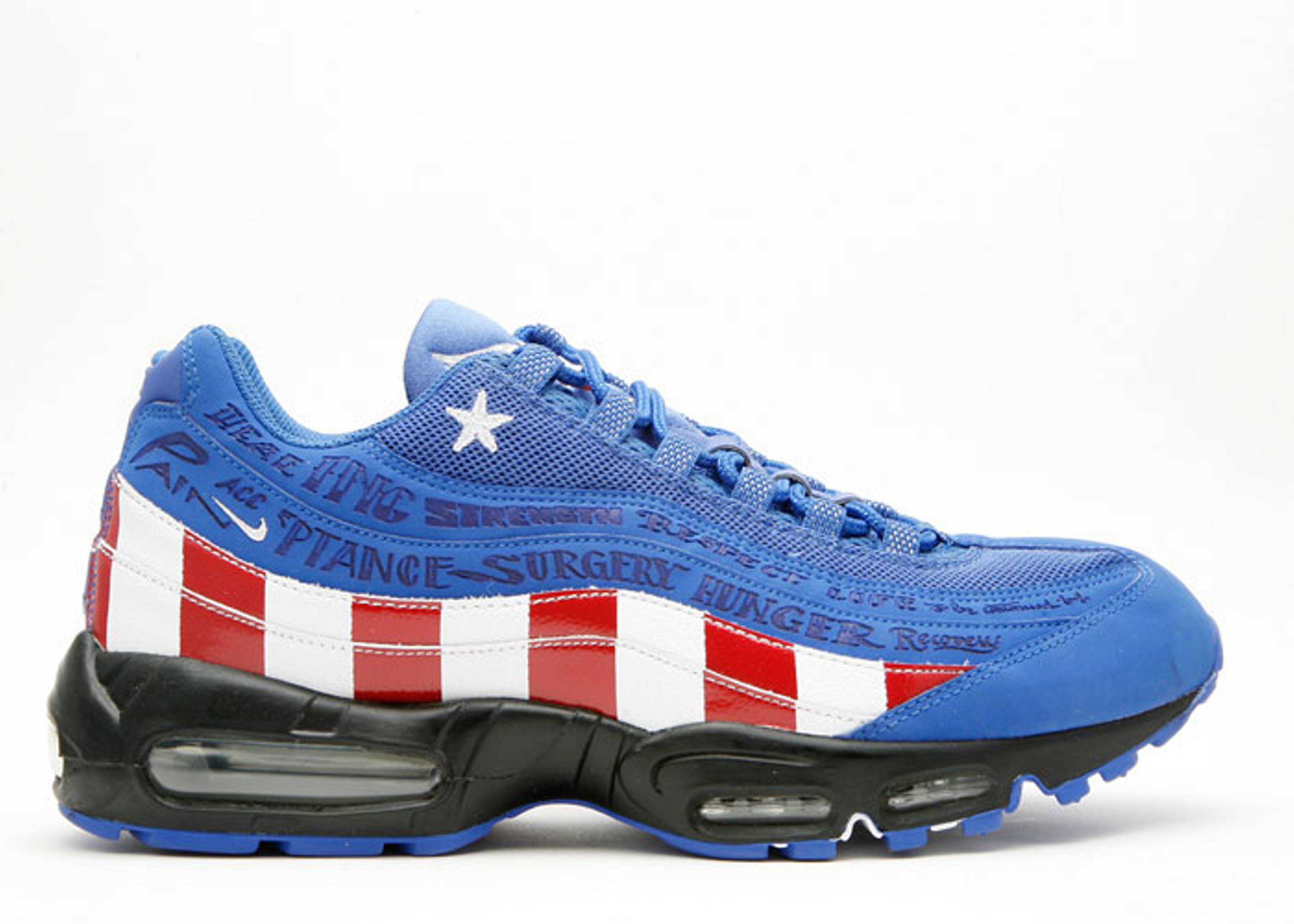 "air max 95 le db ""charity pack"""