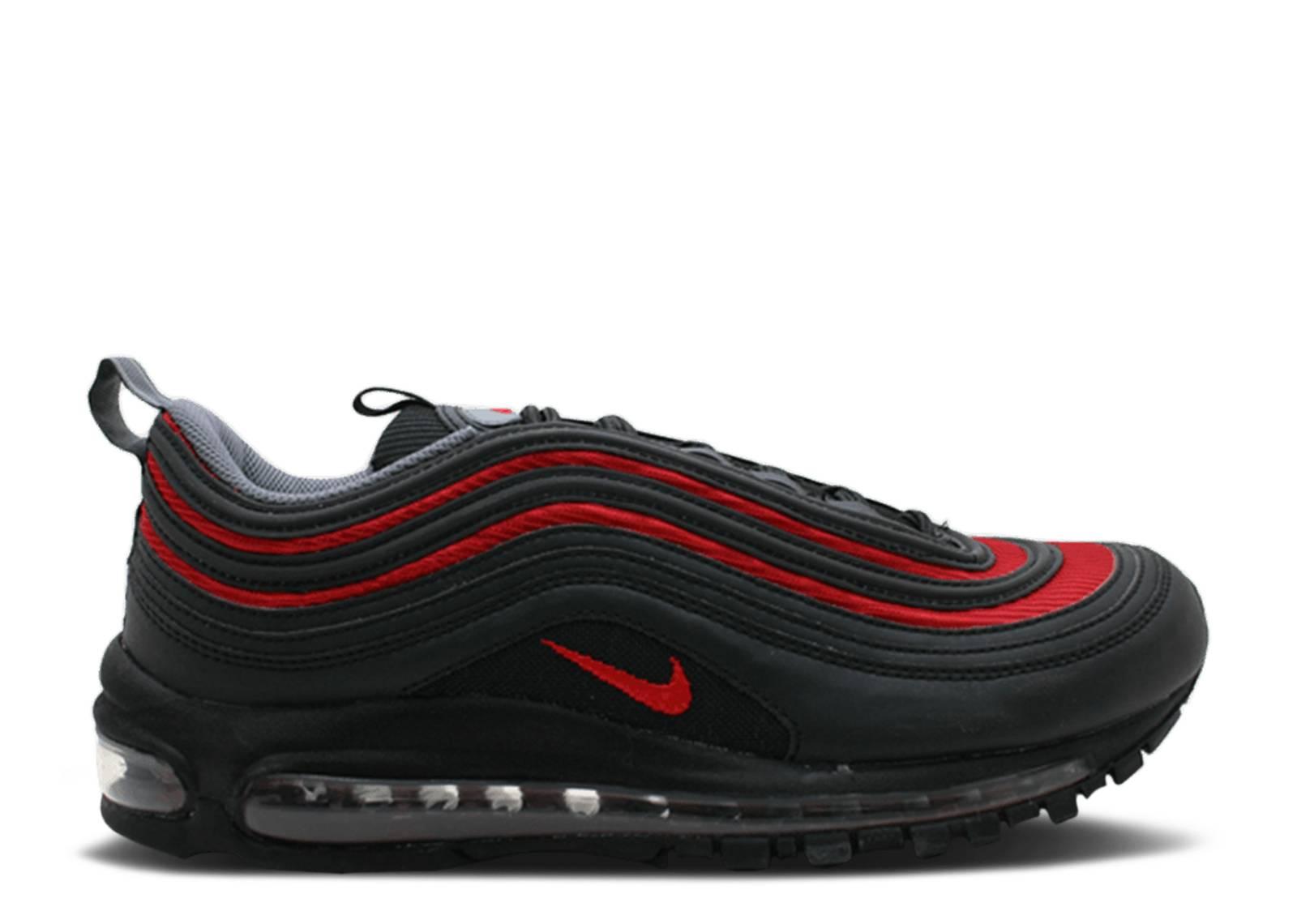 aliexpress 03ed6 a4e0c Air Max 97 - Nike - 312641 062 - black varsity red flint grey-neutral grey    Flight Club