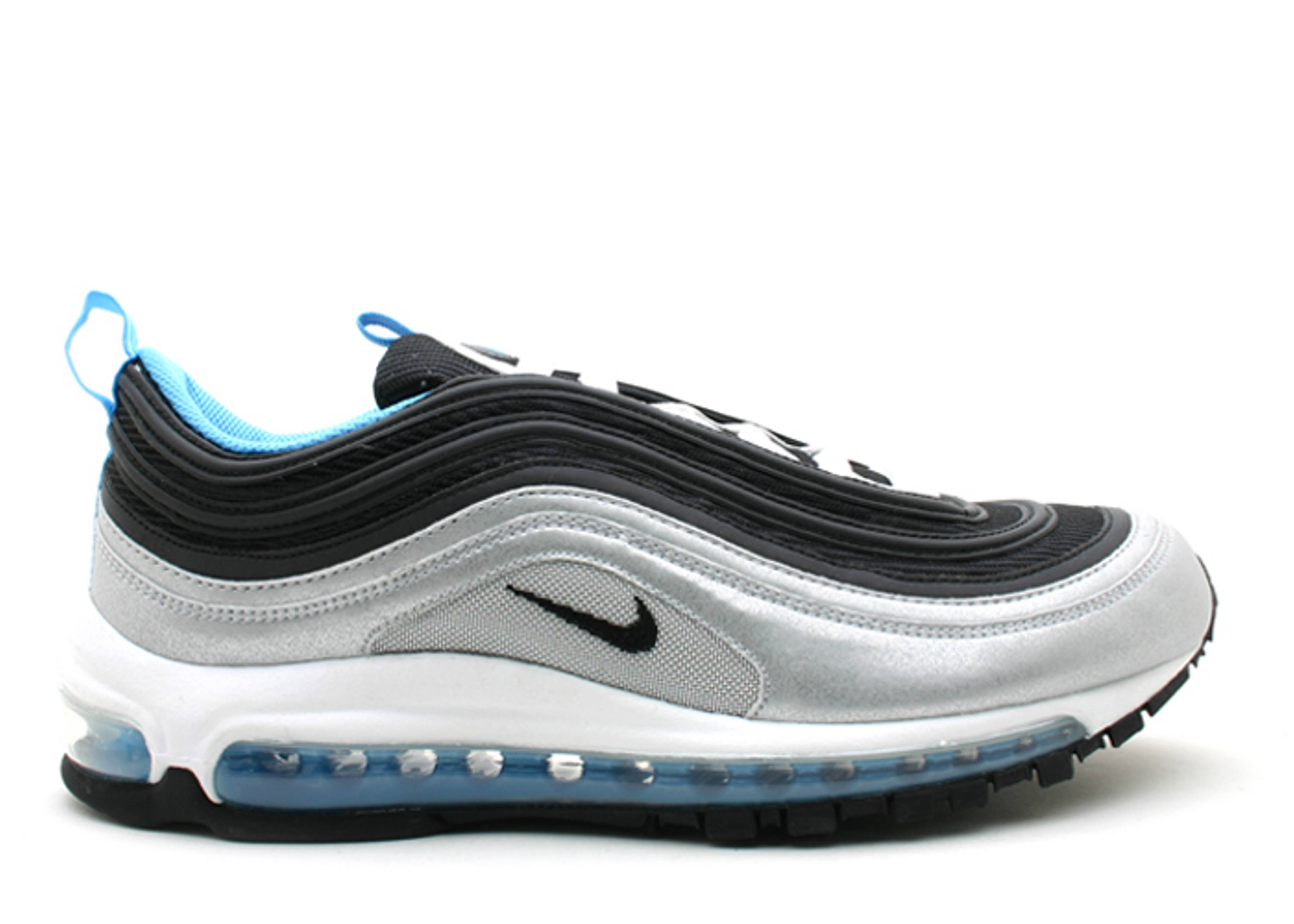 air max 97 silver and blue
