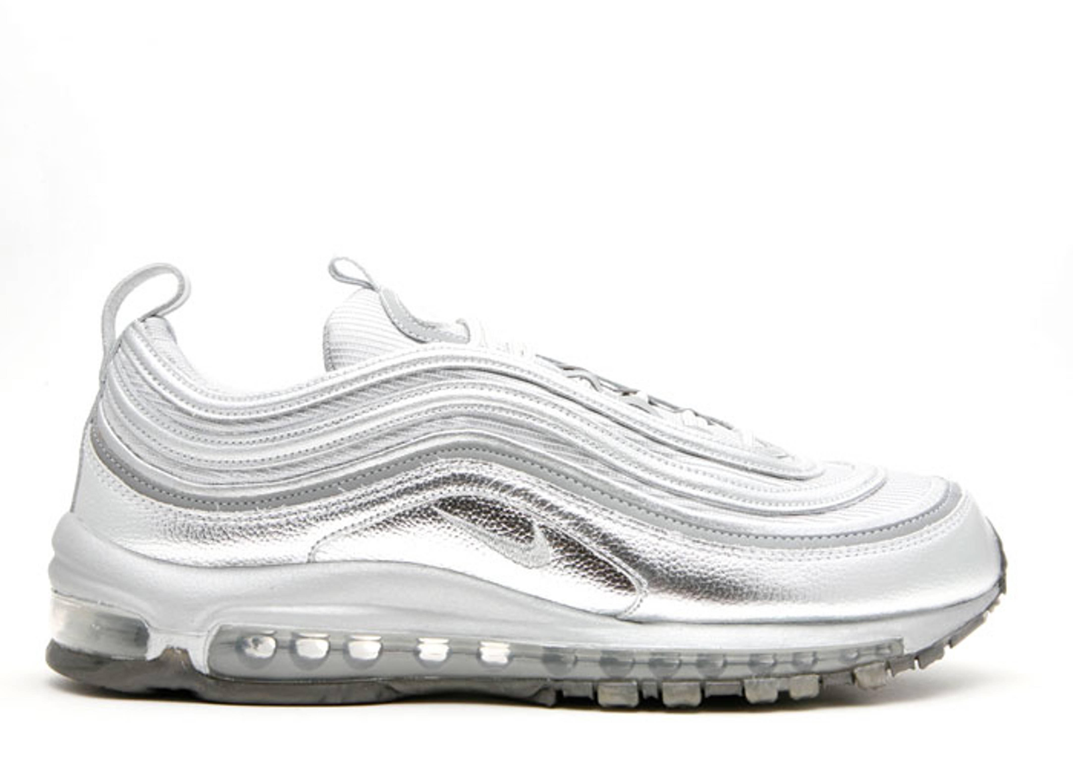 reputable site 5f58c a7c04 Air Max 97 Supreme - Nike - 316782 002 - metallic silver metallic silver-black    Flight Club