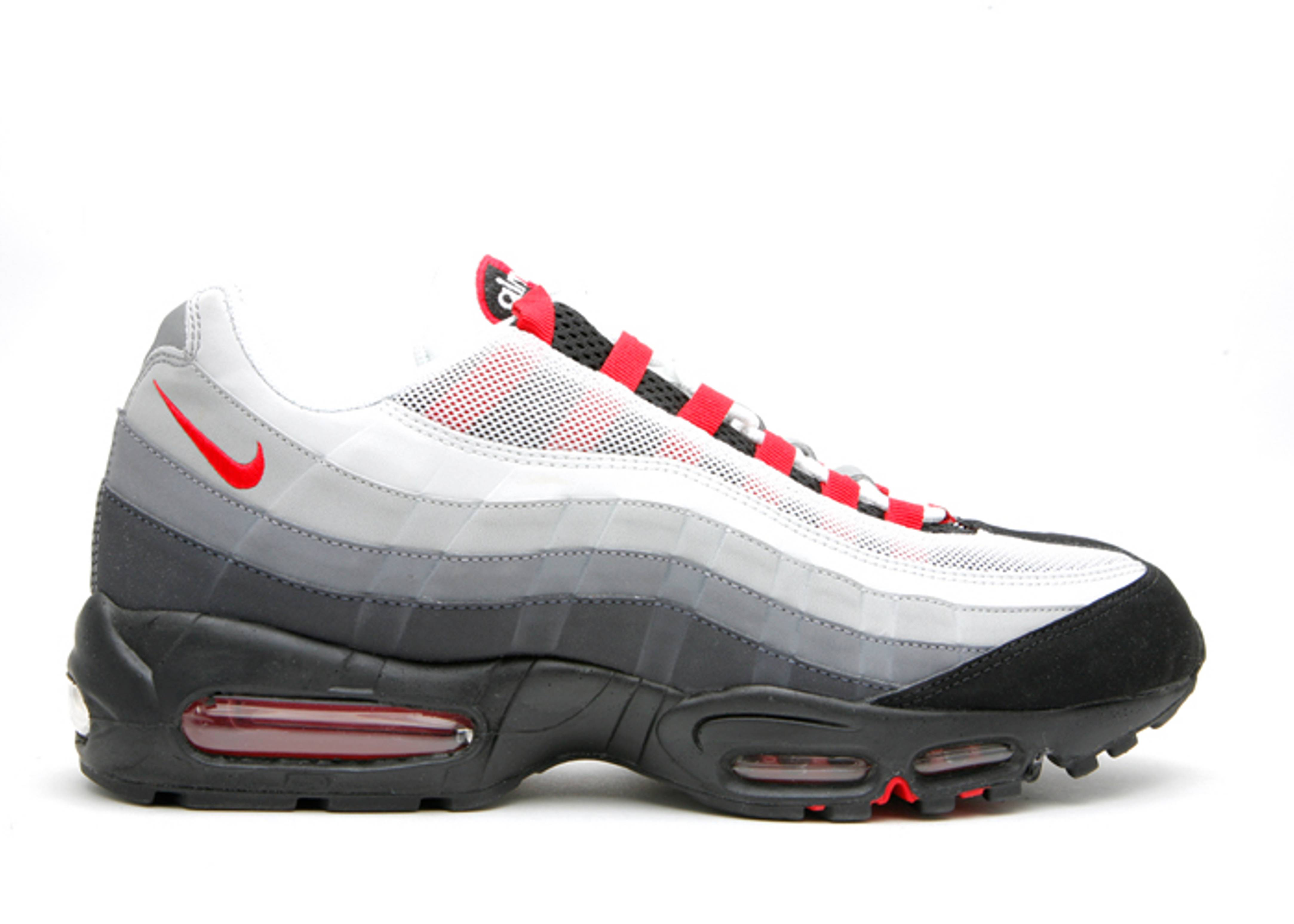 promo code ee55f 45987 black grey and red air max 95