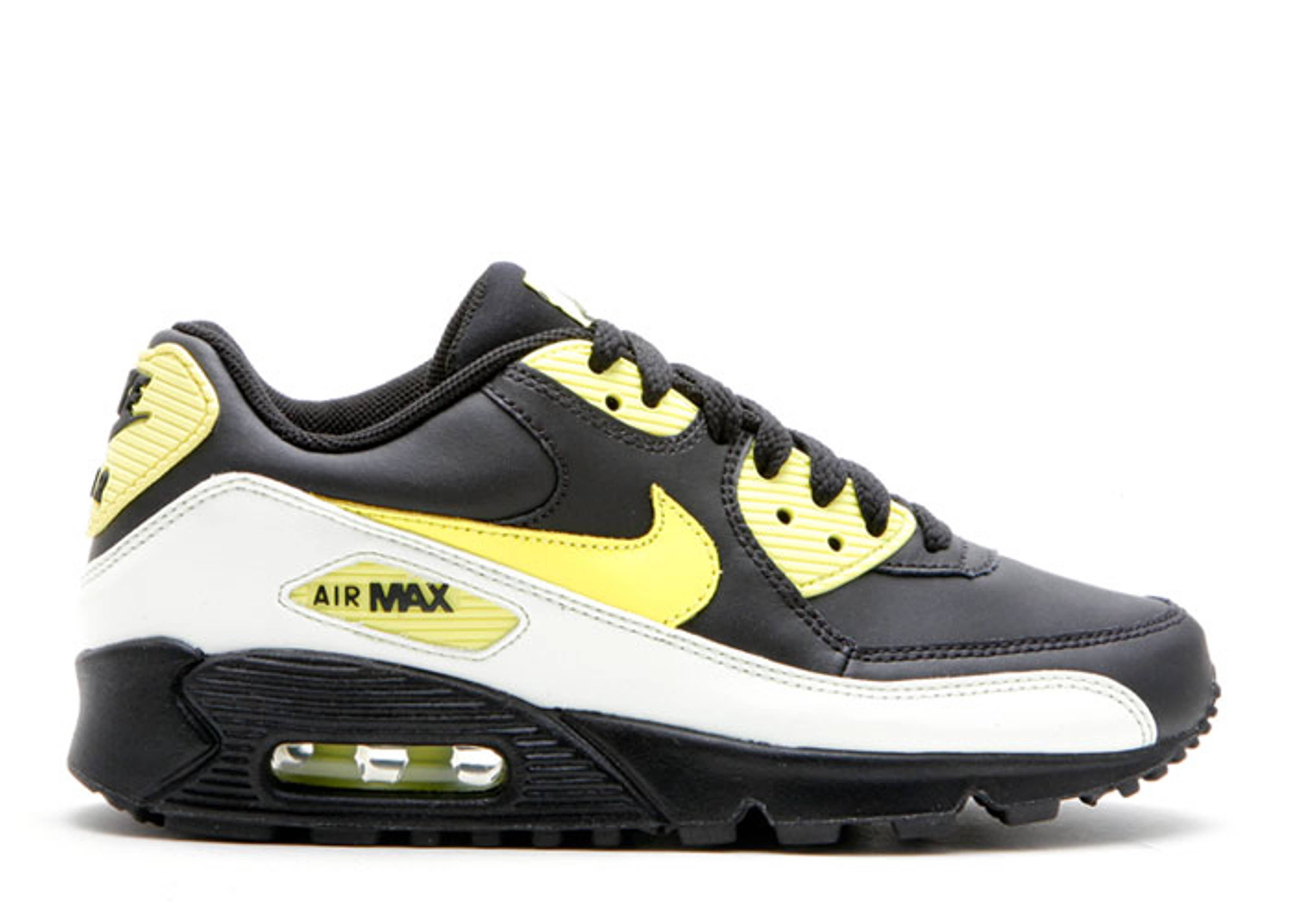 "air max 90 (gs) ""glow in the dark"""