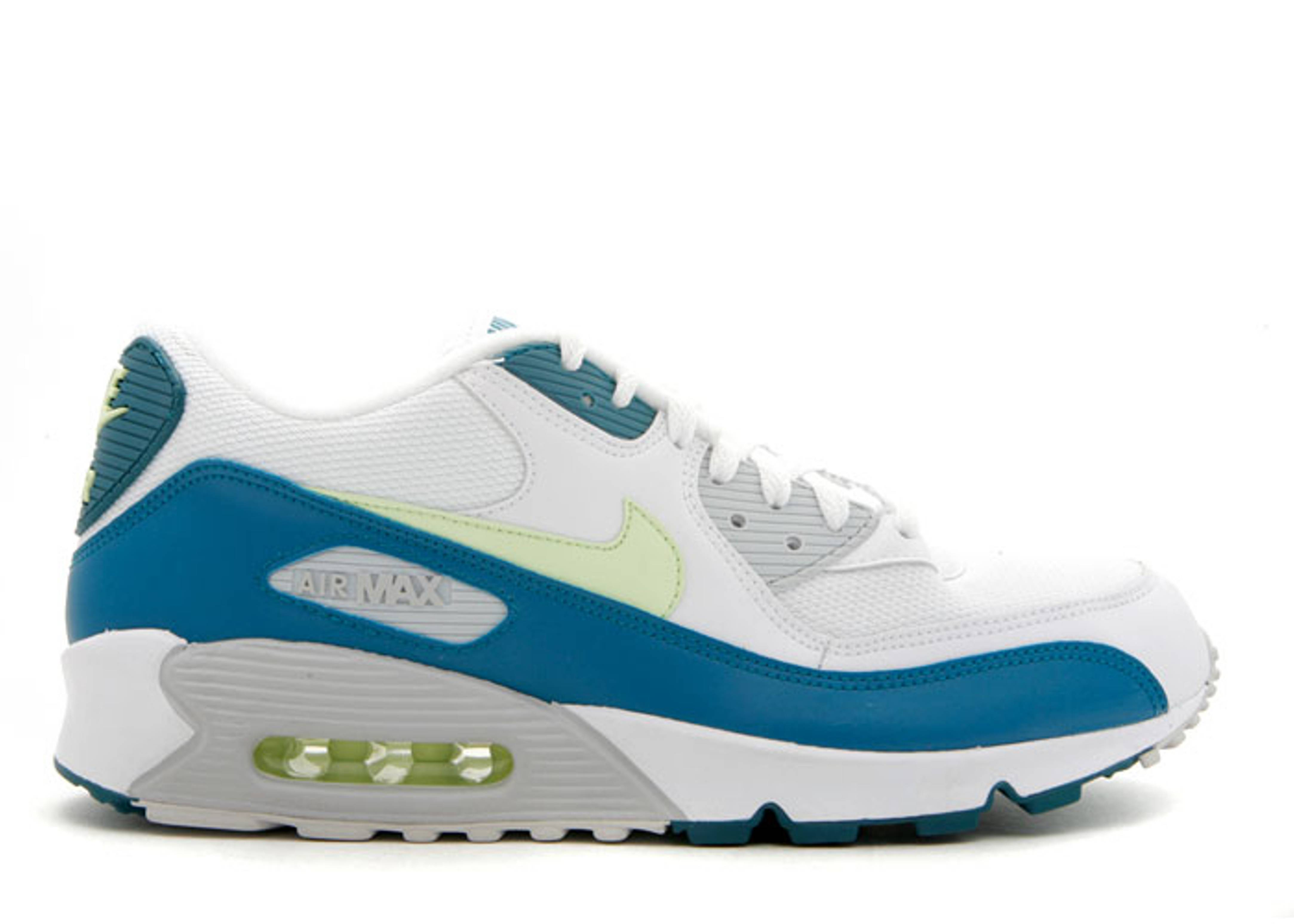 9ec6e4cfeeaa Air Max 90 - Nike - 309299 132 - white ht lm-dark sprc-ntrl grey ...