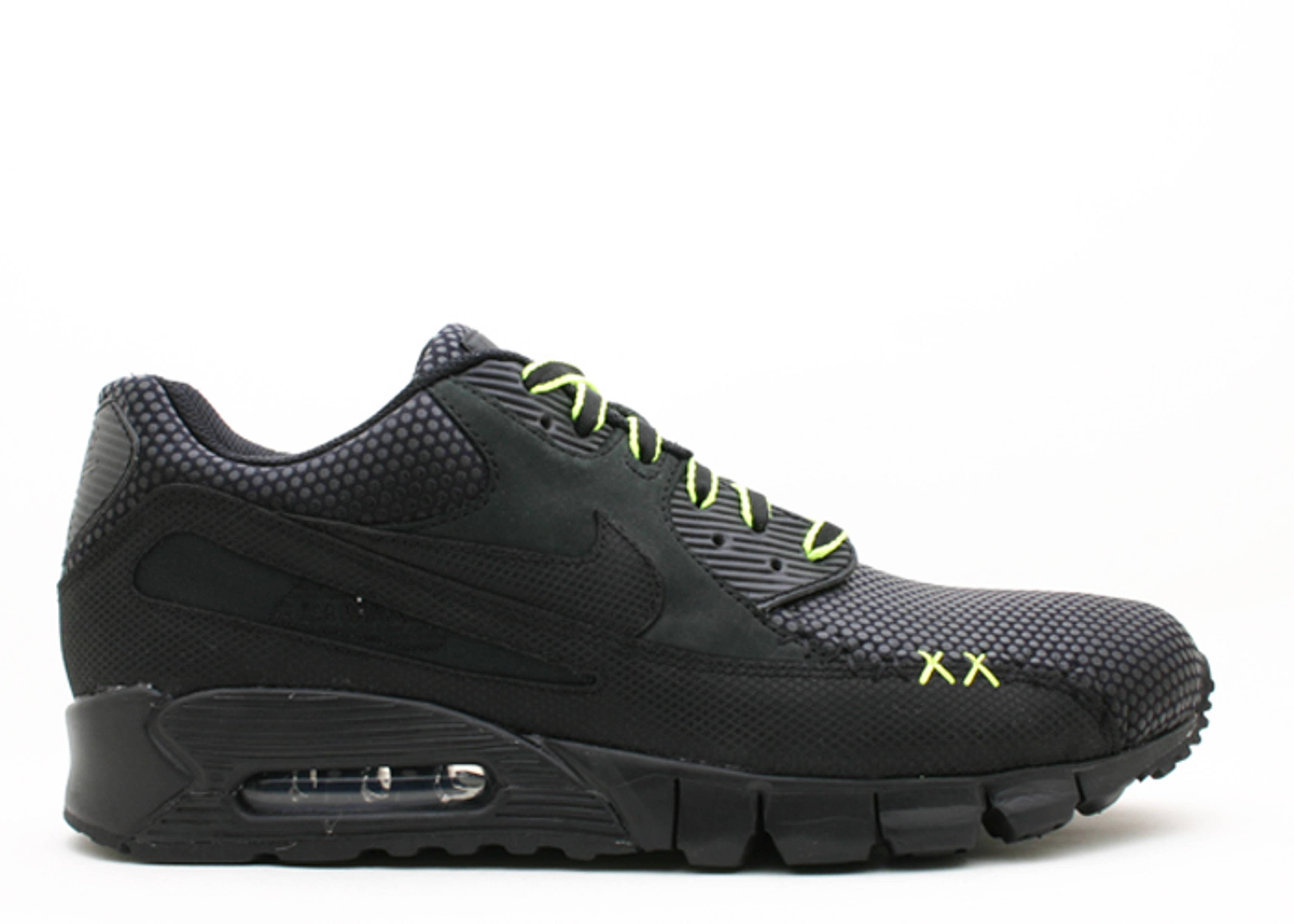 new products c9eeb 29c1c ... Nike Air Max 90 Current Kaws Black Volt  Air Max 90 Current Premium ...