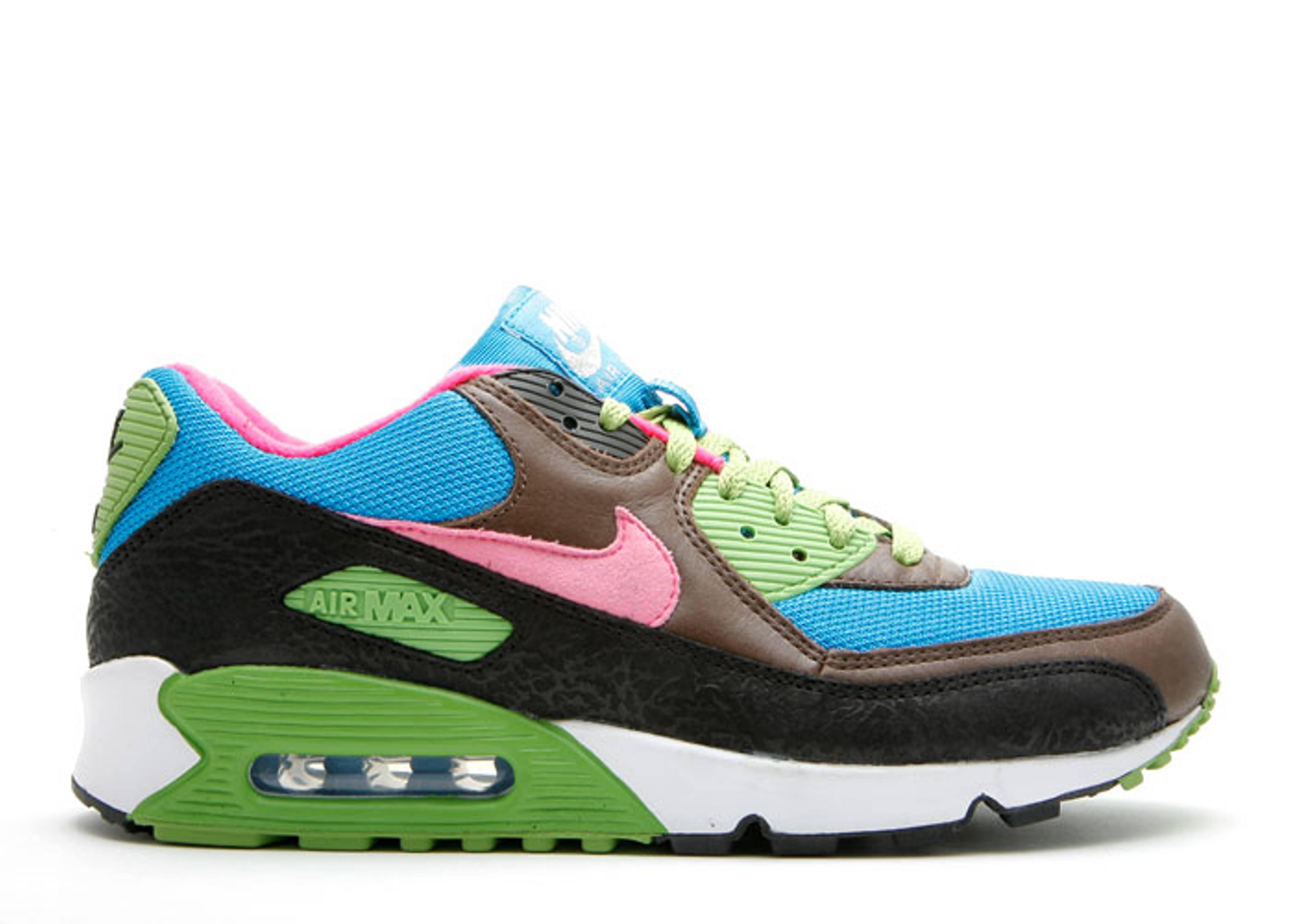timeless design 0c106 e20c4 Air Max 90 Id - Nike - 314266 992 mb - riben blue brown-dark green ...