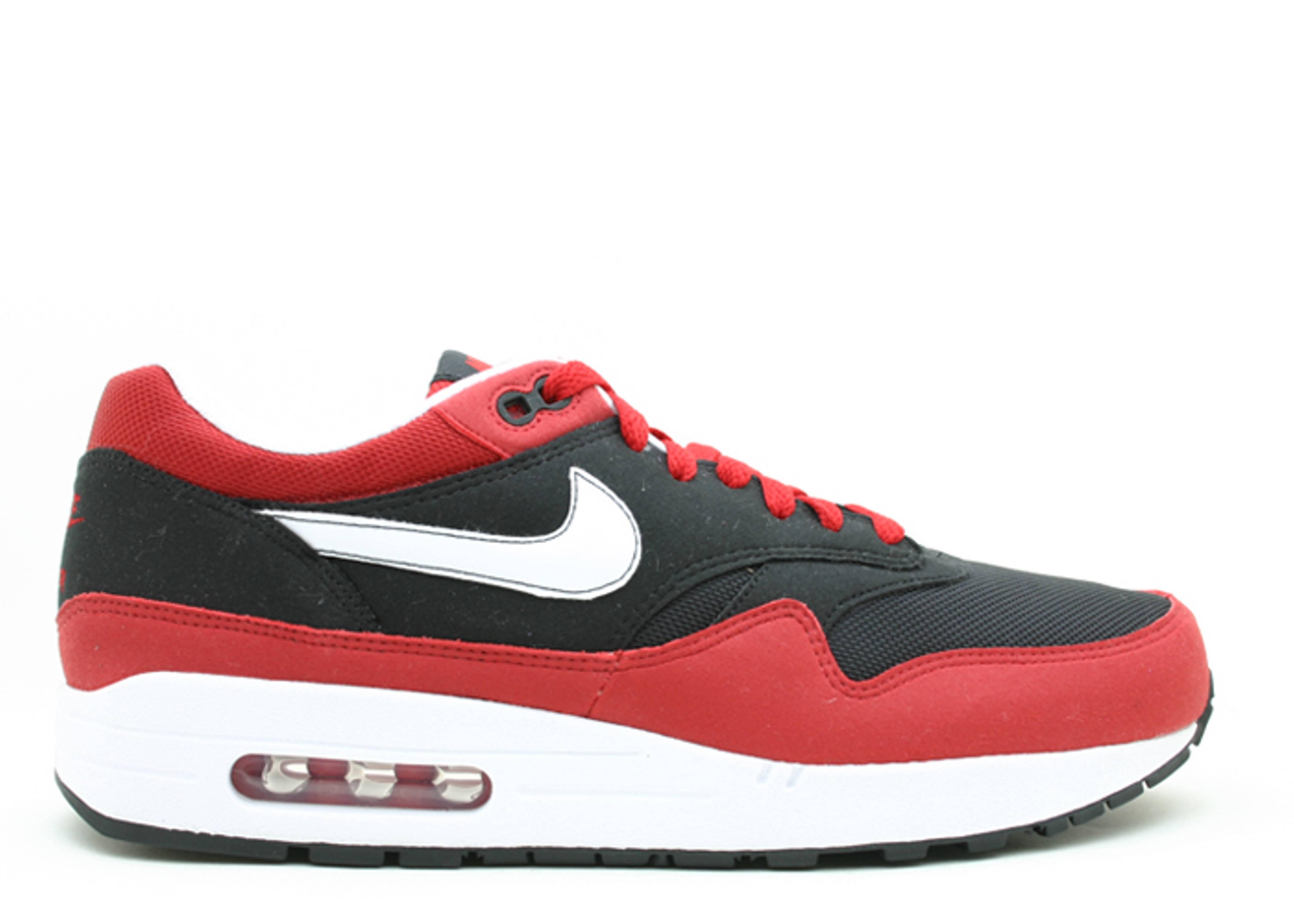 Air Max 1 - Nike - 312542 013 - black white varsity red  e58a156eaf87